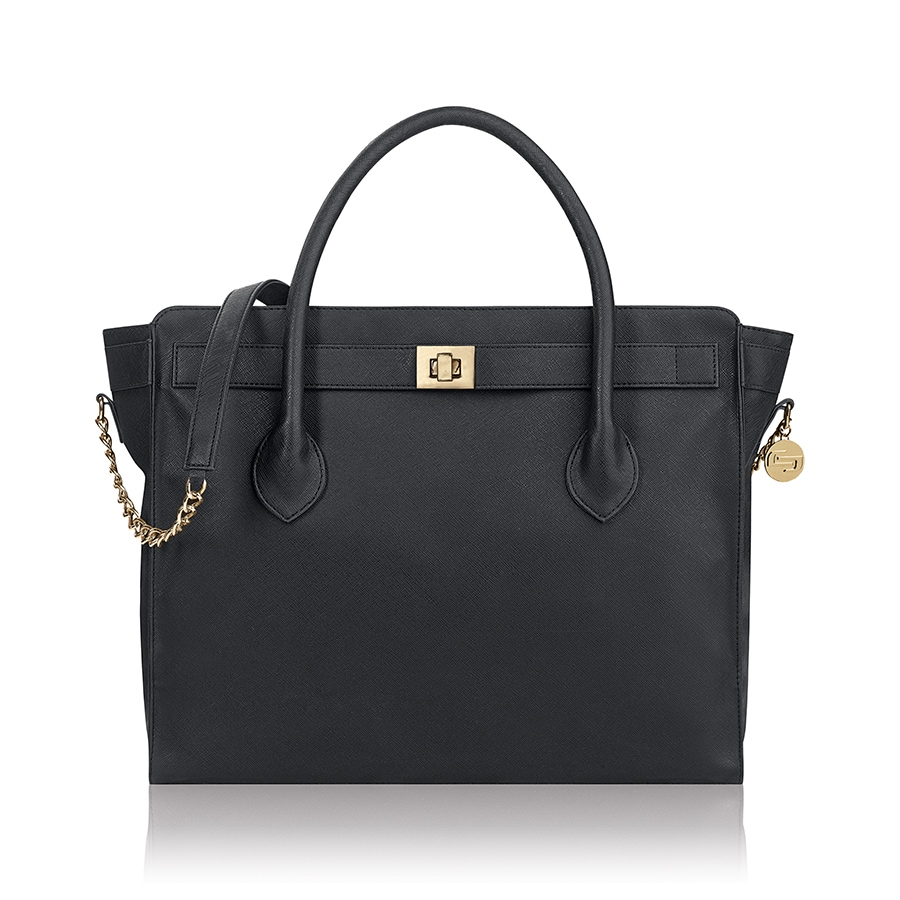 Solo Executive Blue Black Vinyl 15 6 Inch Laptop Tote Bag Free Shipping Today 13469147