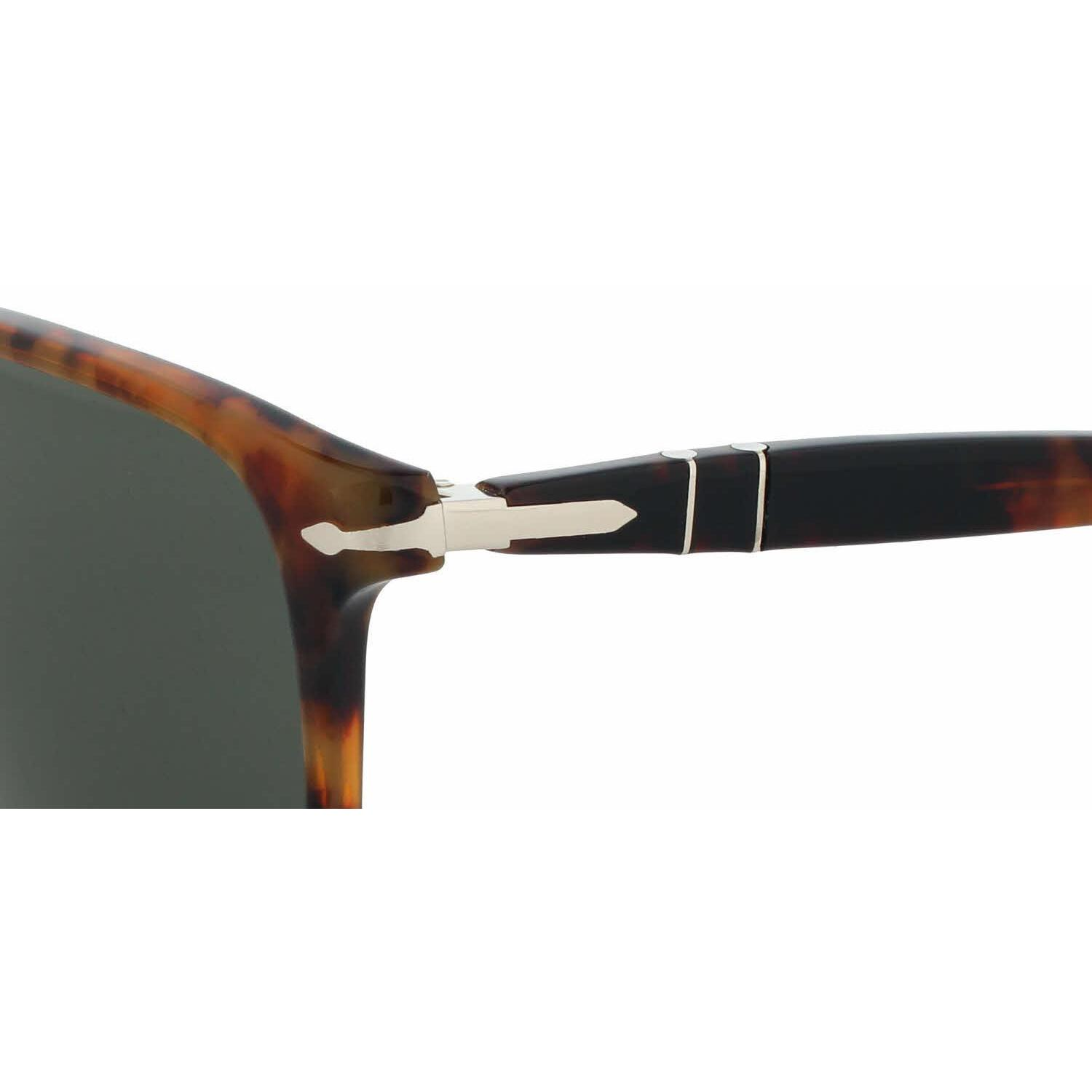 bae008a4093ea Shop Persol Mens PO3059S 108 58 Crystal Plastic Square Sunglasses - Free  Shipping Today - Overstock - 13471311