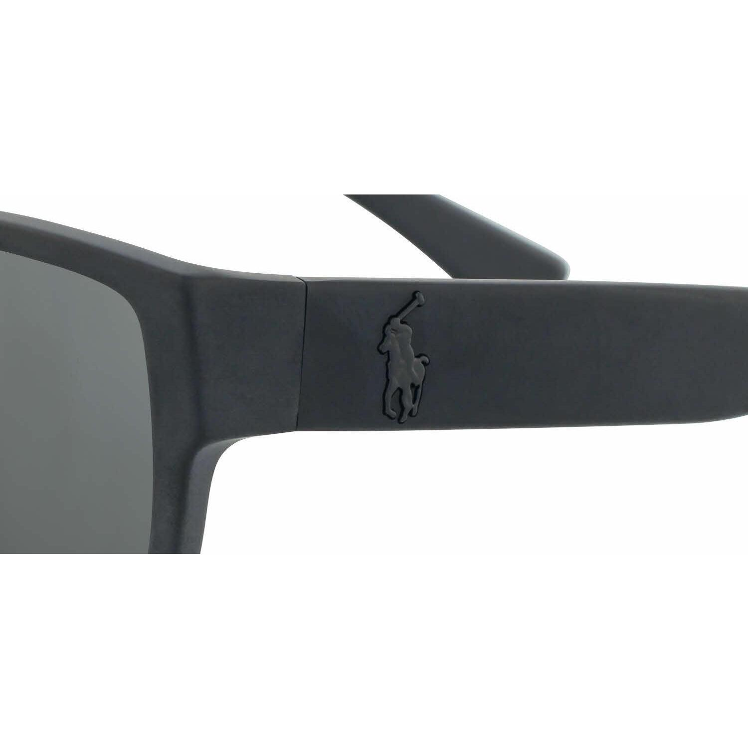 196bfc13328 Shop Polo Mens PH4061 500187 Black Plastic Square Sunglasses - Free  Shipping Today - Overstock.com - 13471645