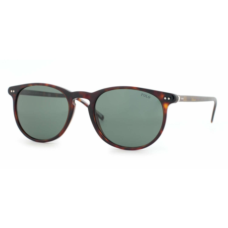 f13df4120d6c Shop Polo Mens PH4044 500371 Havana Plastic Phantos Sunglasses - Green -  Free Shipping Today - Overstock - 13471646