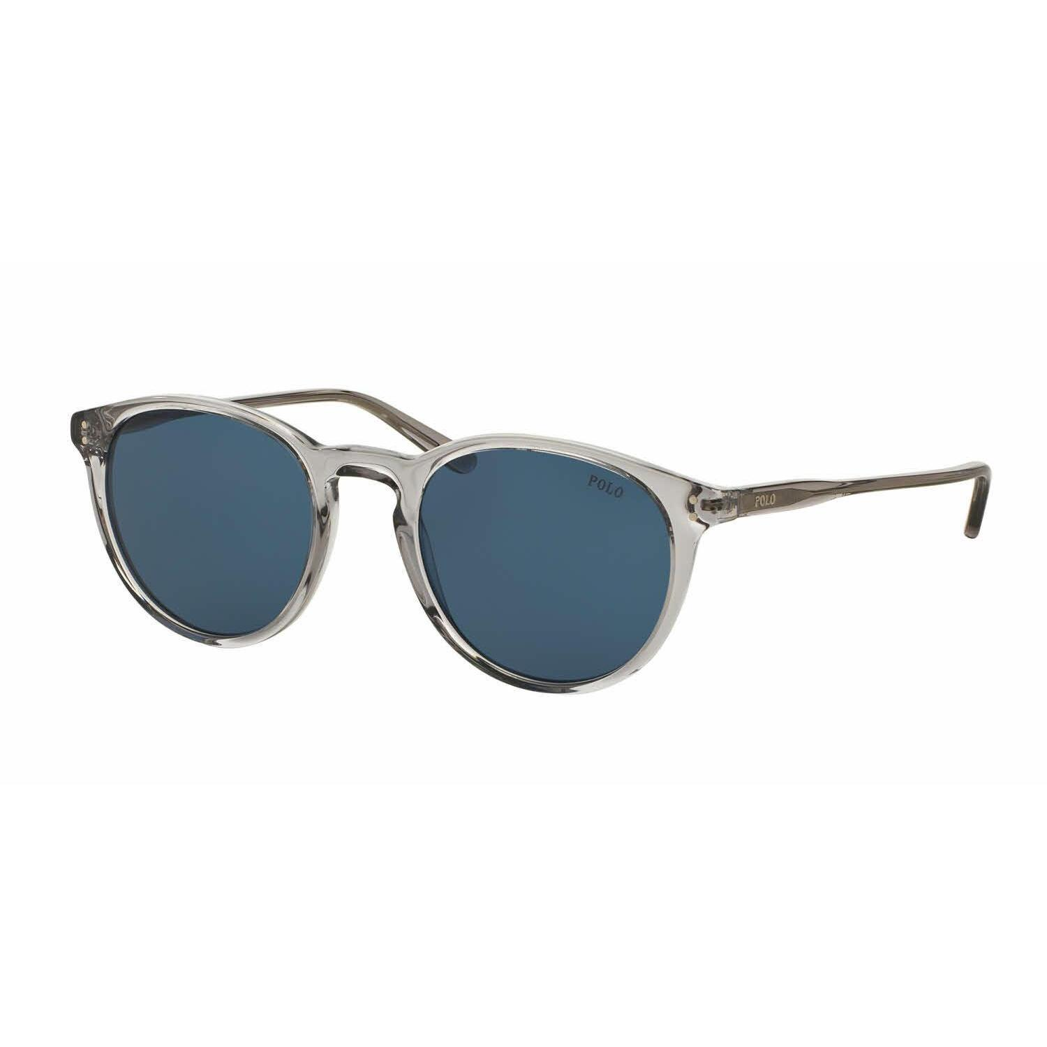 01d88ac6392 Shop Polo Mens PH4110 541380 Grey Plastic Phantos Sunglasses - Blue - Free  Shipping Today - Overstock.com - 13471656