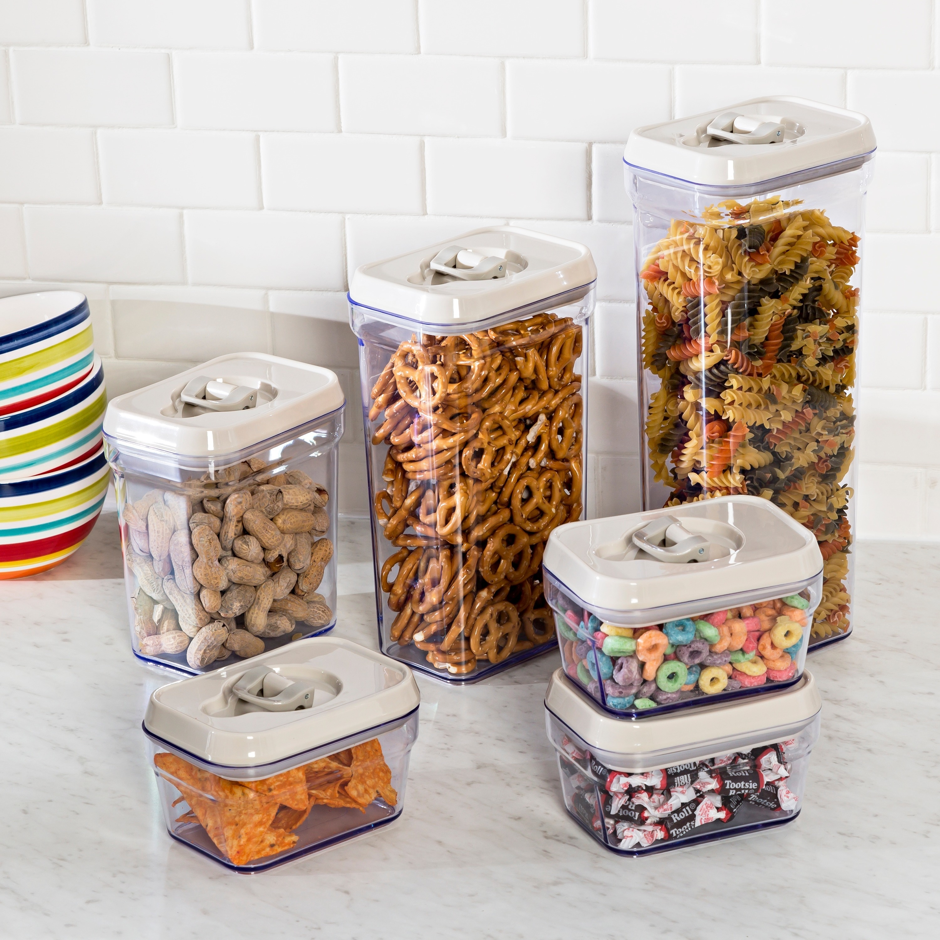 Shop Honey Can Do 12pcs Locking Food Storage Set   On Sale   Free Shipping  Today   Overstock.com   13475839