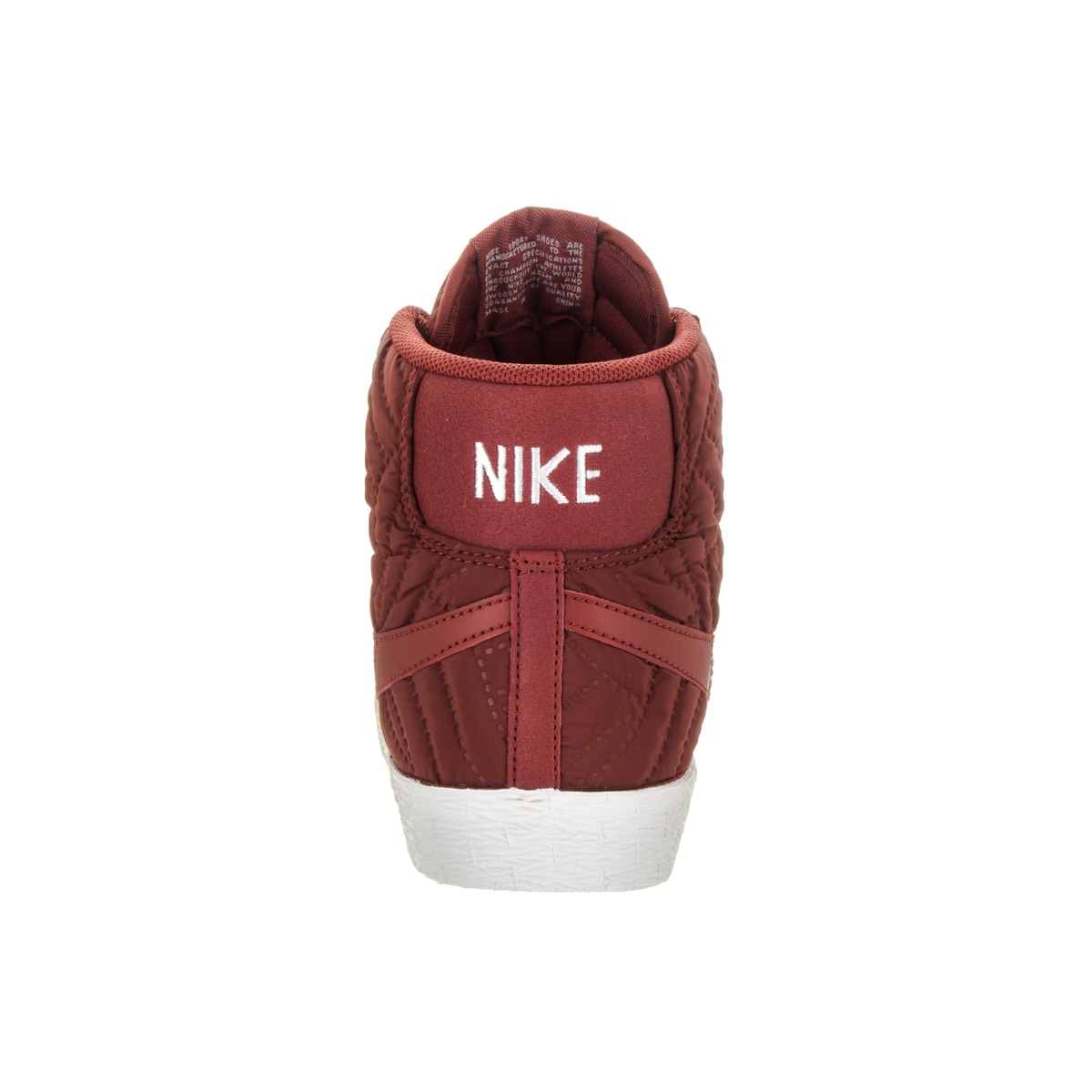 reputable site 97e1f 95d9d Shop Nike Womens Blazer Mid Prm Vintage Red Synthetic Leather Casual Shoes  - Free Shipping Today - Overstock.com - 13476351
