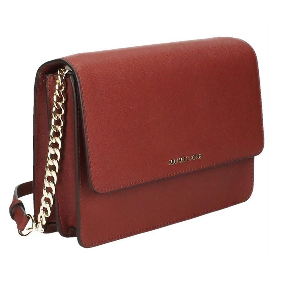 e41e56ab76b917 Shop Michael Kors Daniela Large Saffiano Leather Brick Crossbody Handbag -  Free Shipping Today - Overstock - 13476443