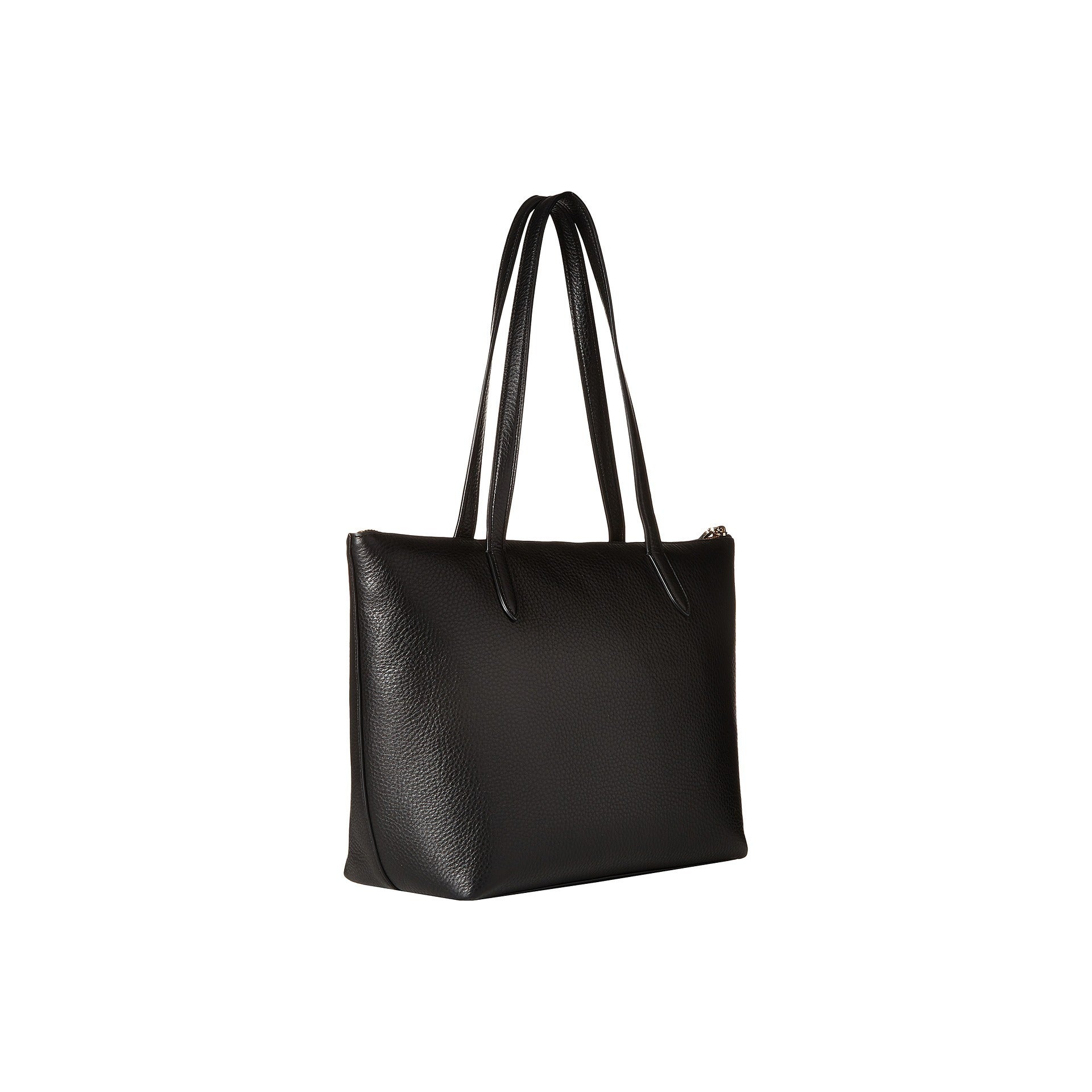 0362fdfbc Shop Coach Taylor Pebbled Black Leather Tote Bag - Free Shipping Today -  Overstock - 13477133