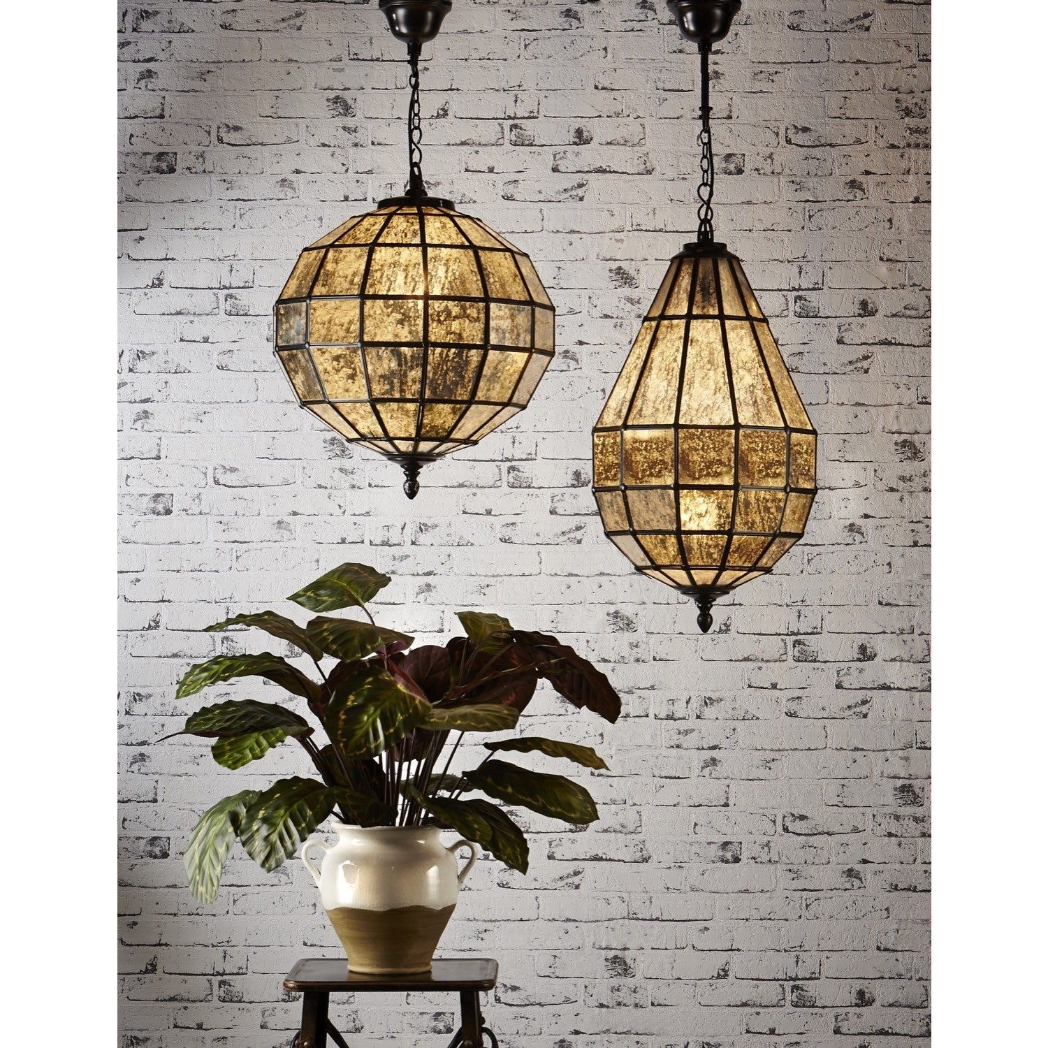 shown finish light mini lighting item bronze and cfm in elk danica oiled inch mercury glass wide pendant