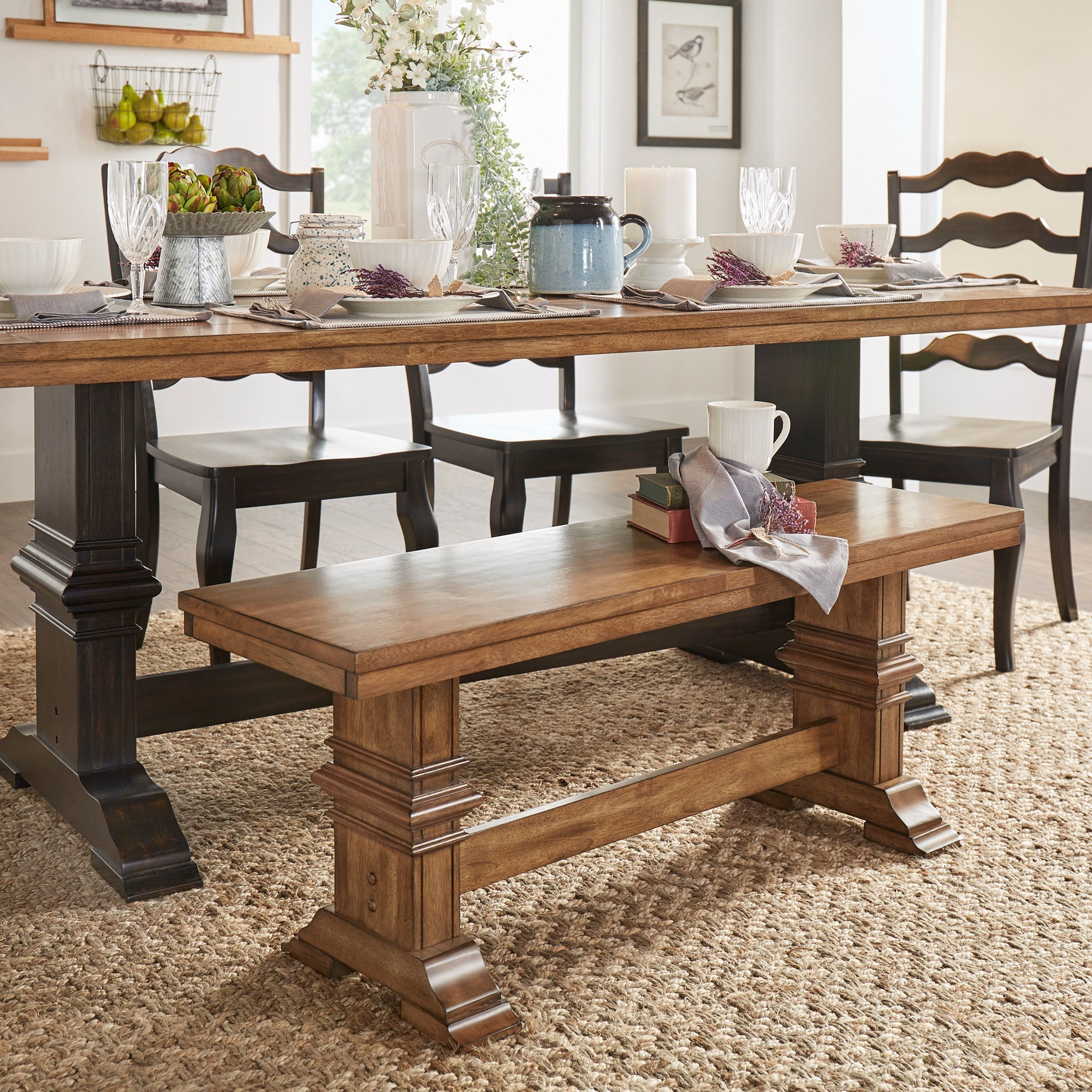 trestle furniture for with sale table bench liberty farmhouse tables