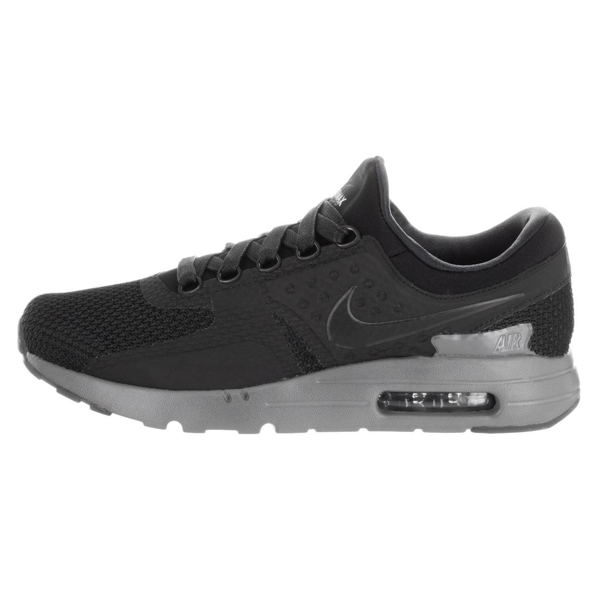 new concept 17a05 d736c ... get shop nike mens air max zero qs black synthetic running shoes free  shipping today overstock