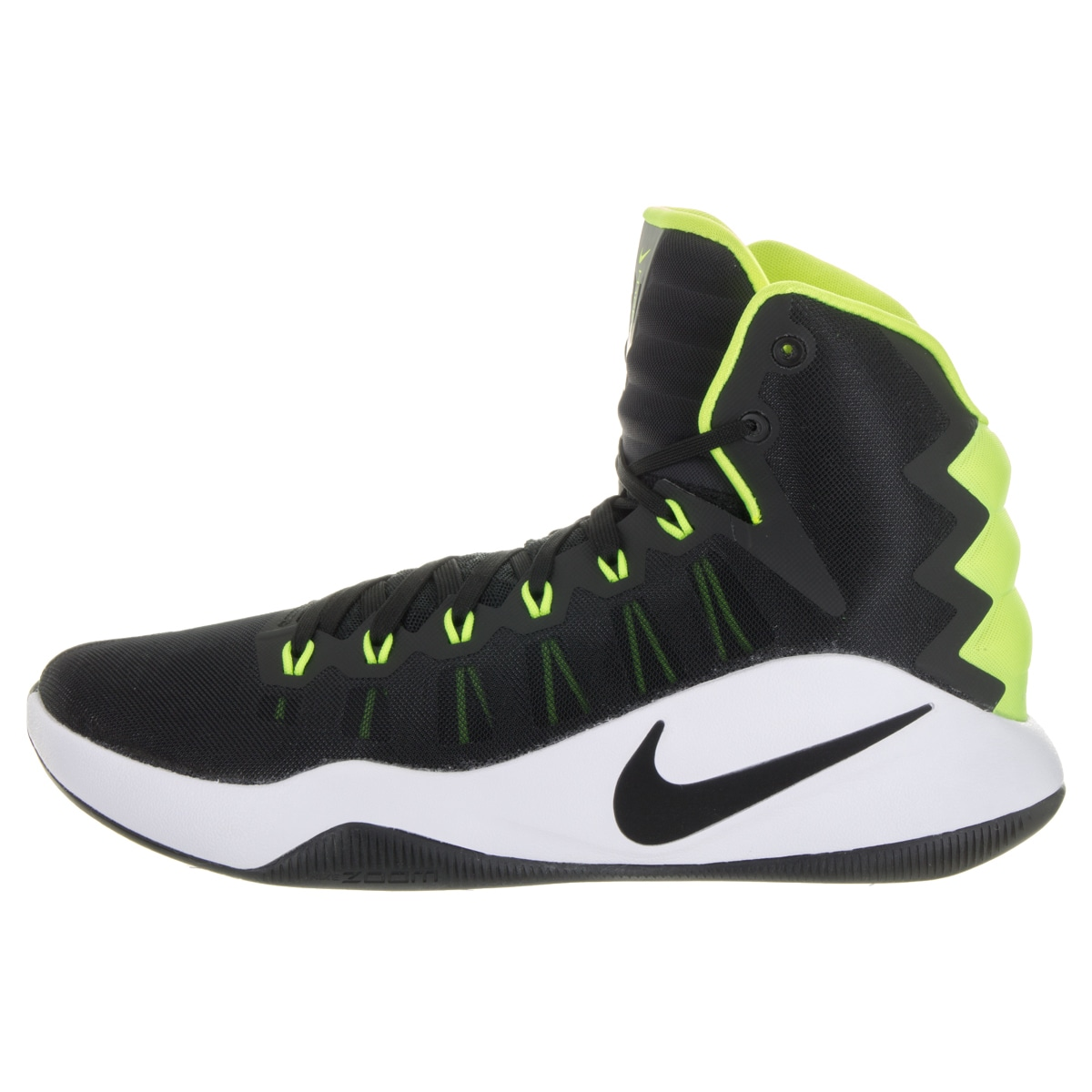 6620f6ca0e0 Shop Nike Men s Hyperdunk 2016 Black Synthetic Leather Basketball Shoes -  Free Shipping Today - Overstock - 13477919