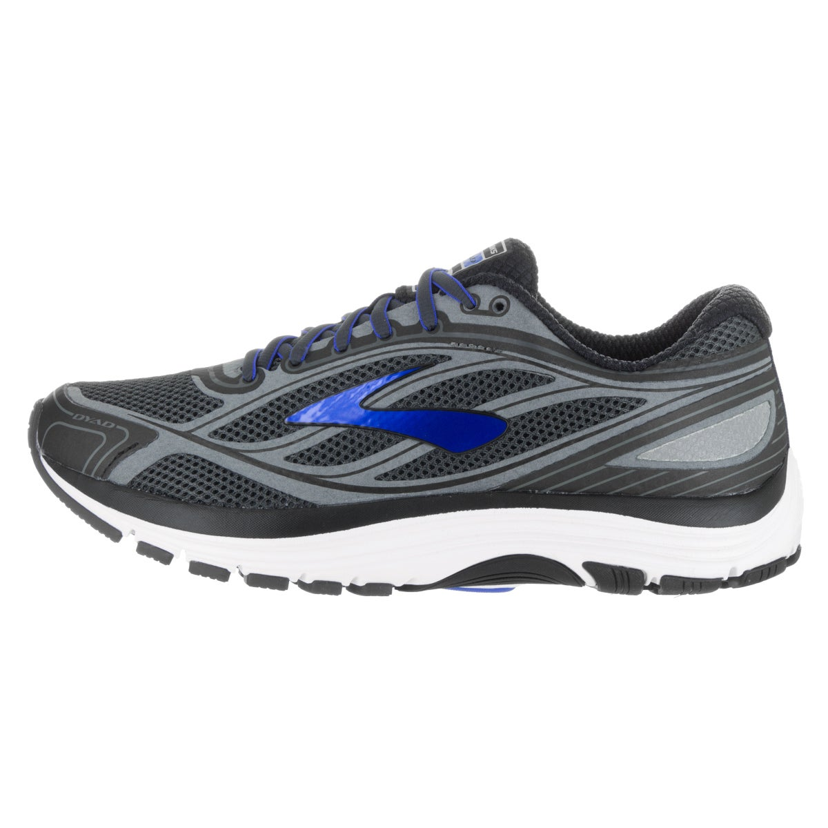 9915534d092 Shop Brooks Men s Dyad 9 Grey Running Shoes - Free Shipping Today -  Overstock.com - 13477927