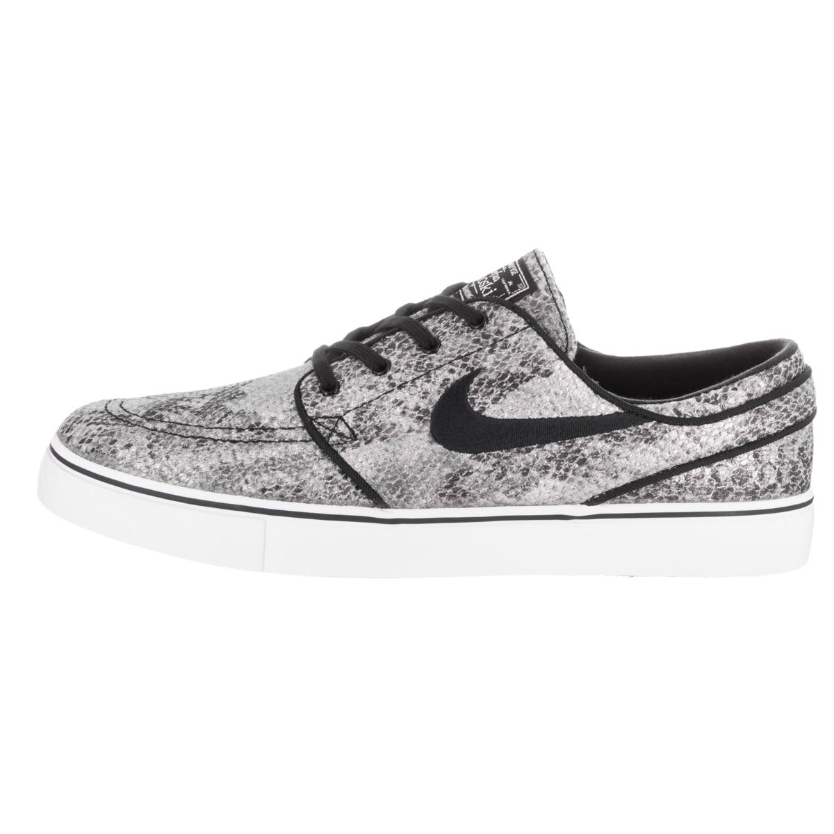 best sneakers 17efb f2730 Shop Nike Men s Zoom Stefan Janoski Prem TxT Black Textile Skate Shoes -  Free Shipping Today - Overstock - 13478118