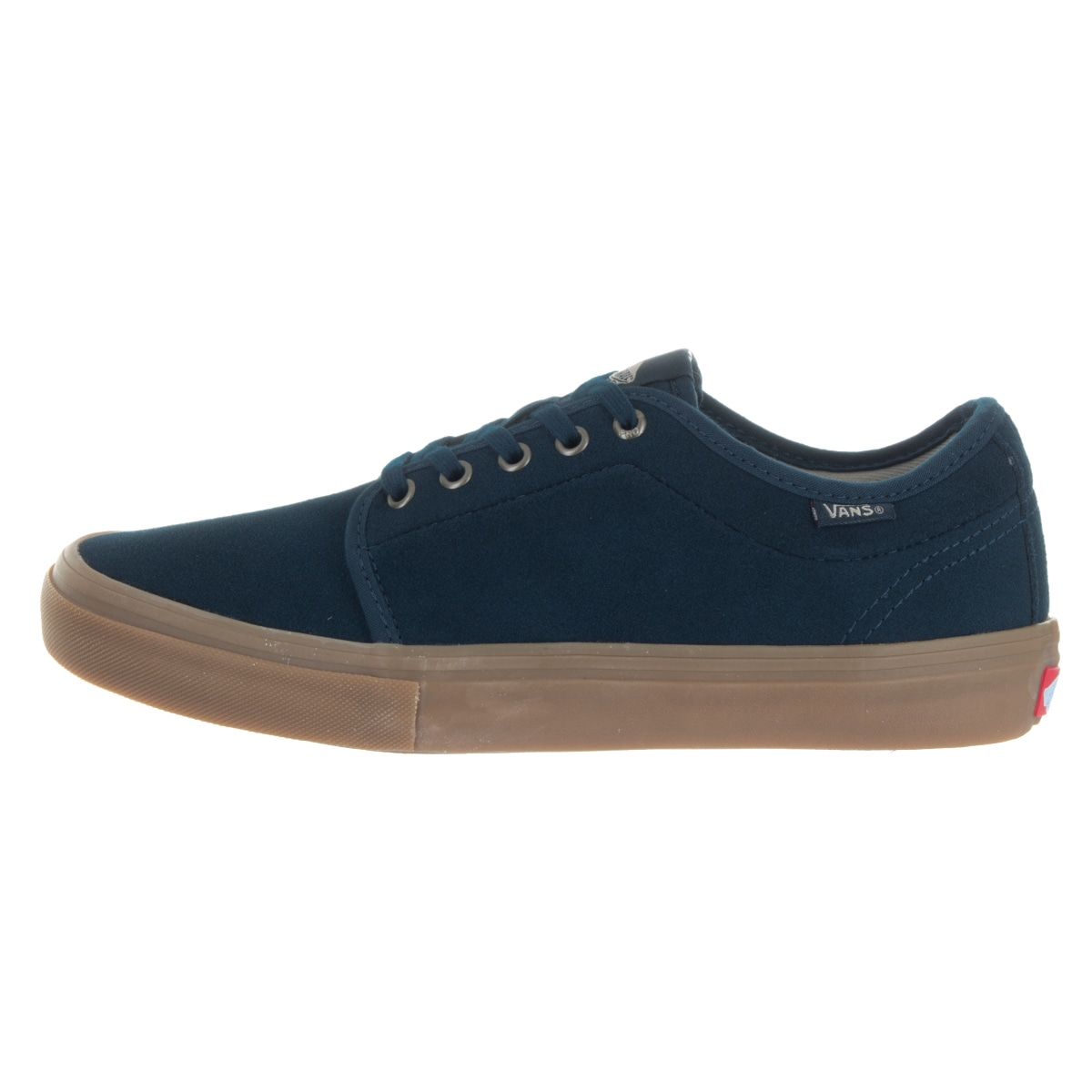 6aaa90f23d Shop Vans Men s Chukka Low Pro Dr Blue Suede Skate Shoes - Free Shipping  Today - Overstock - 13478135