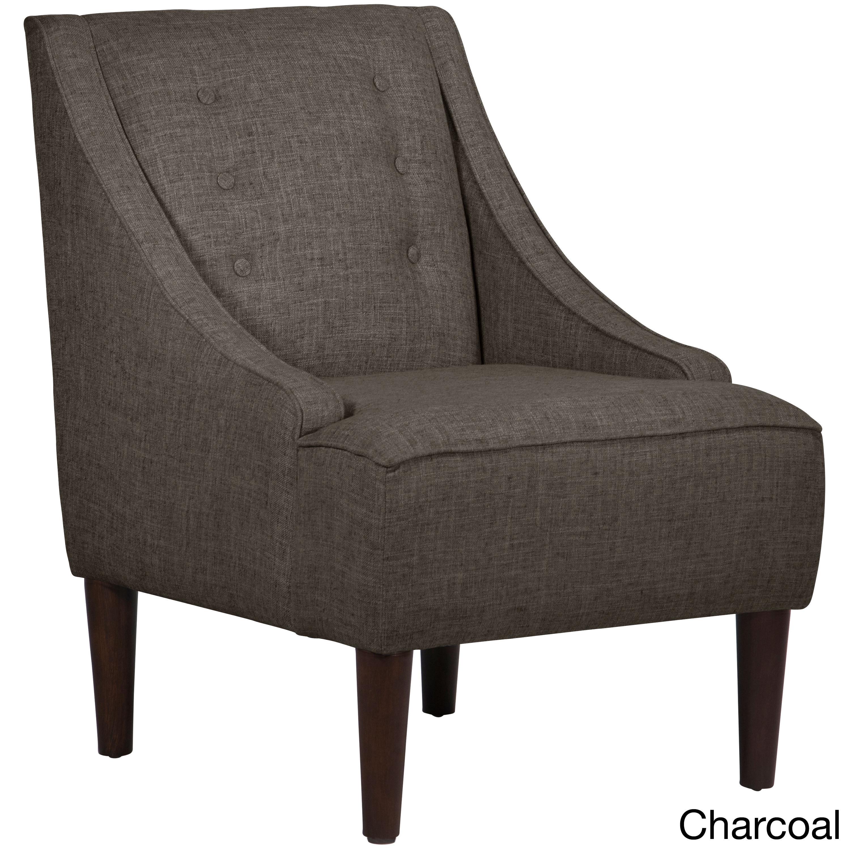 furniture full tufted ottoman cupboard pool vlv linen in size chaise skyline valletta velvet button lounge bench hayneedle grey storage