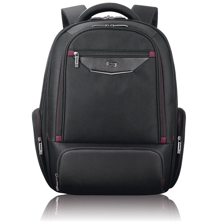 Solo Executive Black 17 3 Inch Laptop Backpack Free Shipping Today 13516967