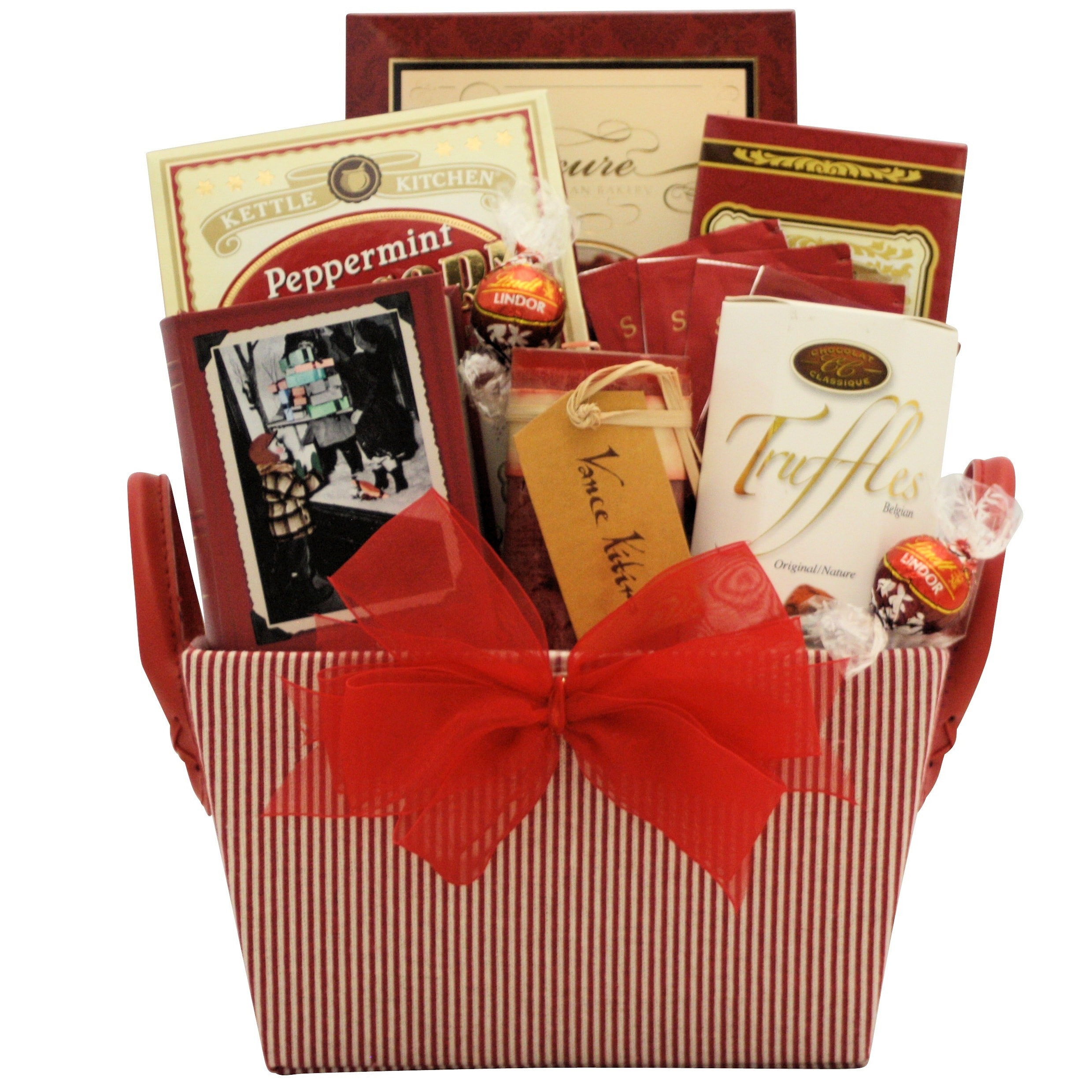 Shop Peace & Tranquility Spa Holiday Christmas Gift Basket - Free ...
