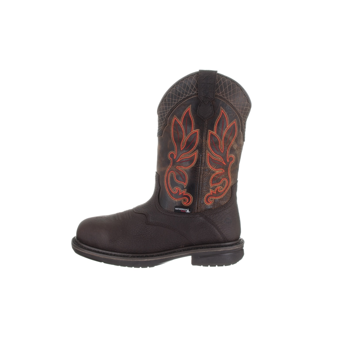 4c8f21e1a87 Wolverine Men's Roscoe Brown Leather Waterproof Boots