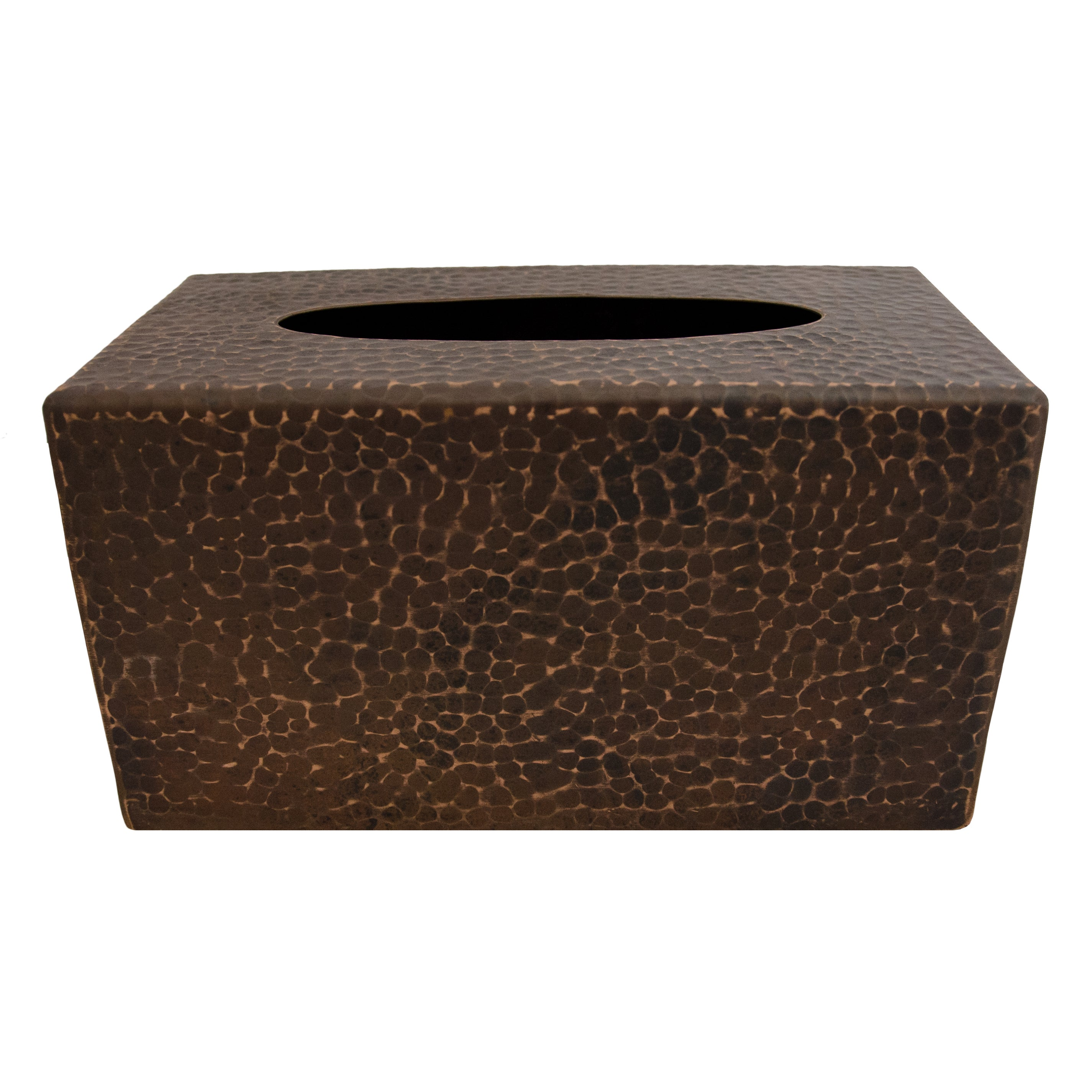 Large Rectangular Hand Hammered Copper Tissue Box Cover Free Shipping Today 13535695