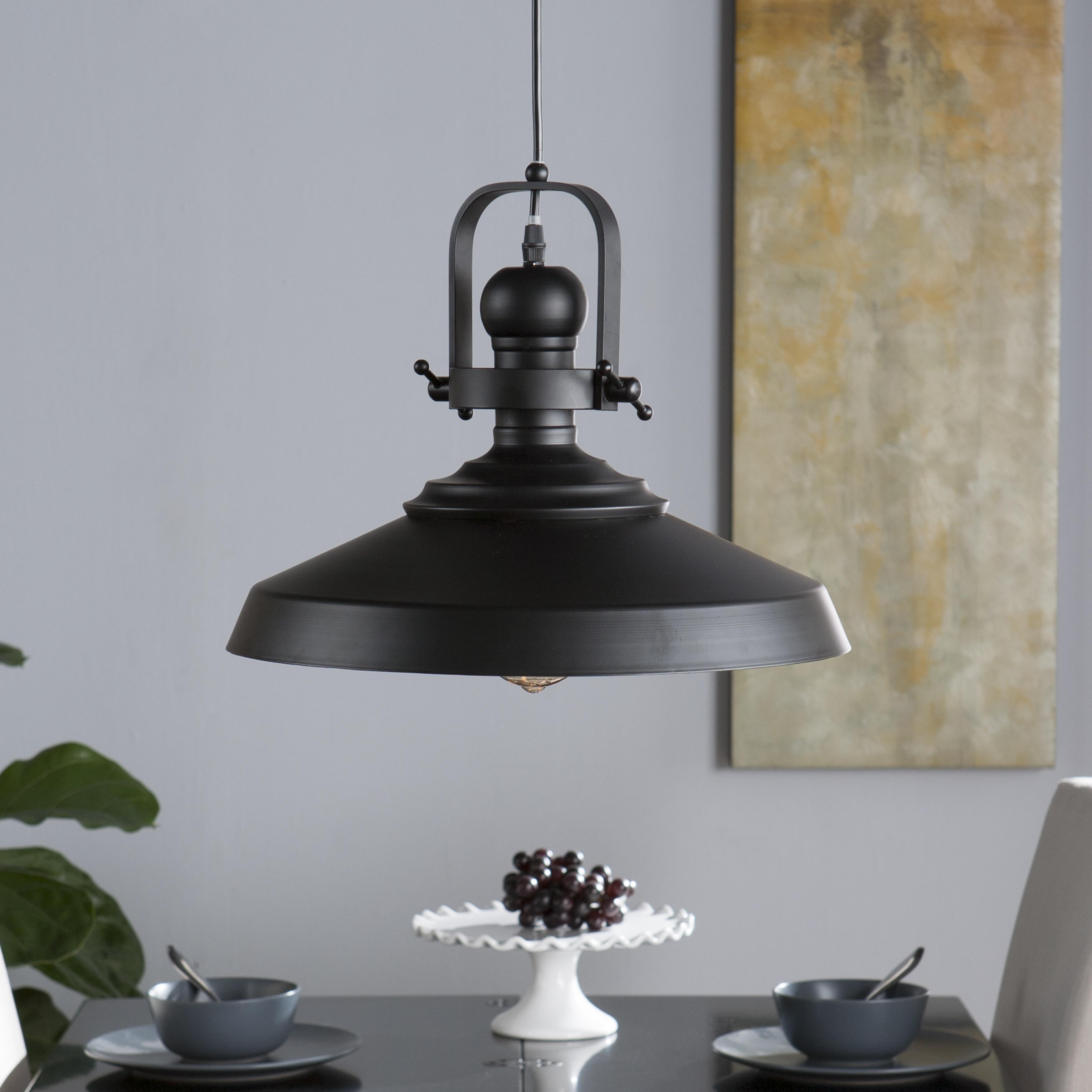 Shop Harper Blvd Bindel Industrial Bell Pendant Lamp - Free Shipping ...
