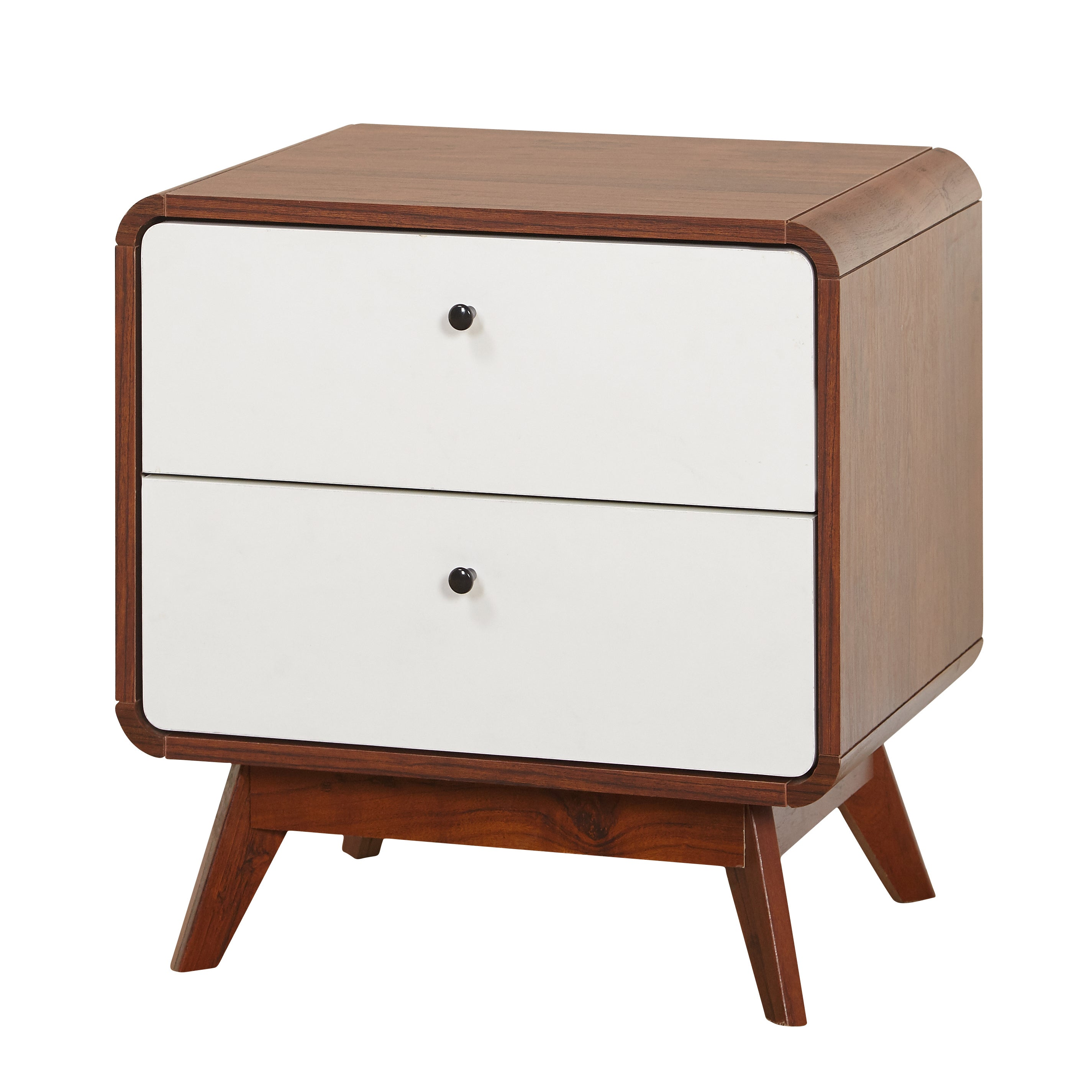 Beautiful Simple Living Cassie Mid Century Night Stand   Free Shipping Today    Overstock.com   20217070 Pictures Gallery