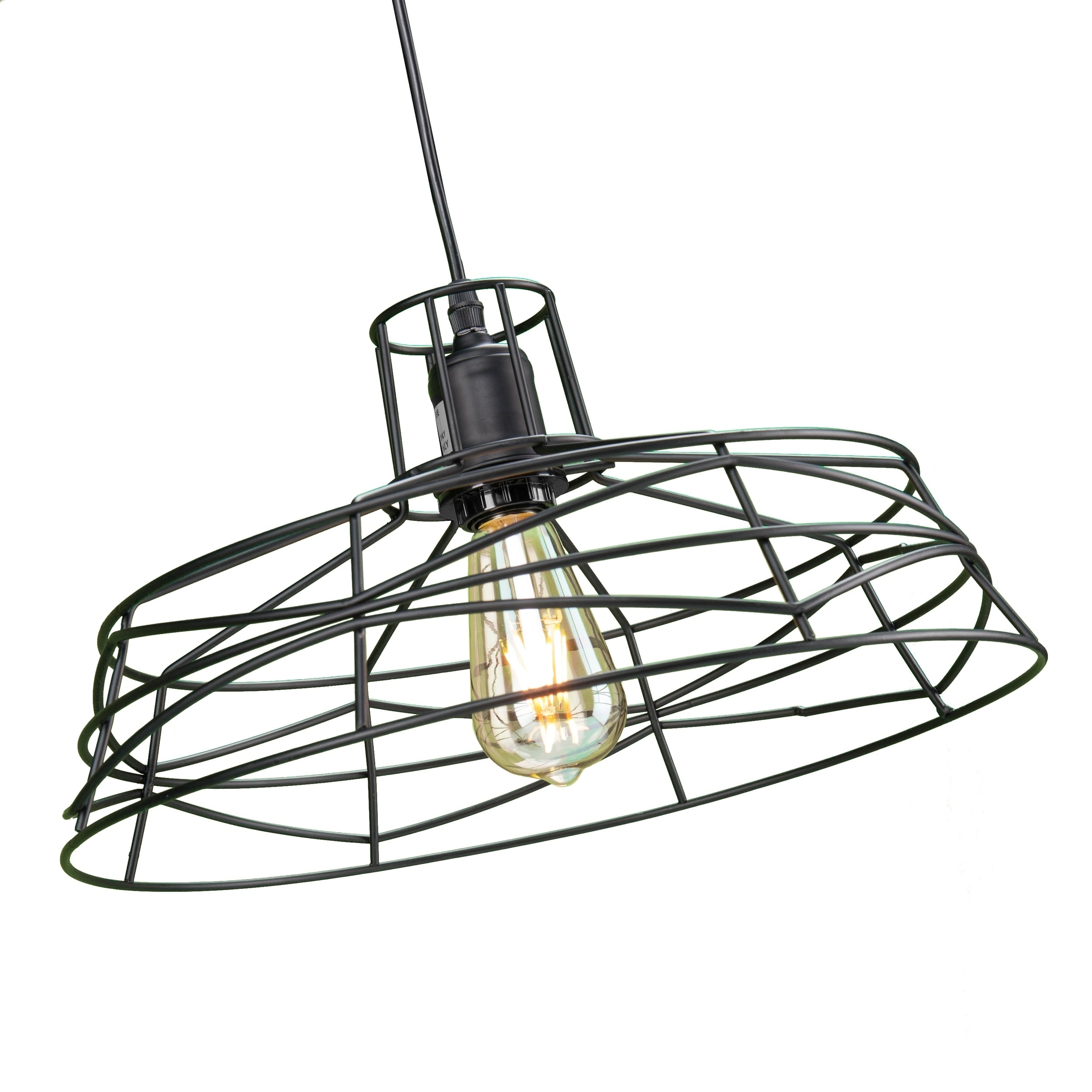 shop harper blvd valassina wire cage pendant l on sale free Fluorescent Light Wiring Connector shop harper blvd valassina wire cage pendant l on sale free shipping today overstock 13542312