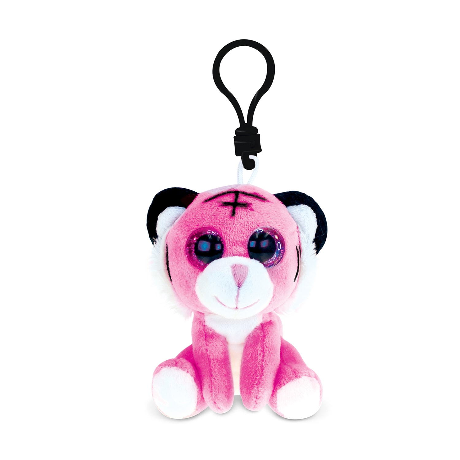 Shop Puzzled Inc Pink Tiger Polyester 6 Inch Soft Stuffed Plush Big