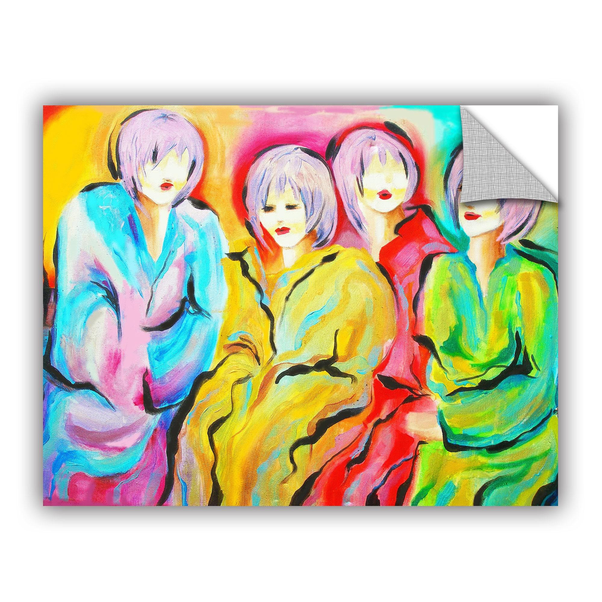 ArtAppealz Susi Franco\'s \'Mood Swings\' Removable Wall Art Mural ...