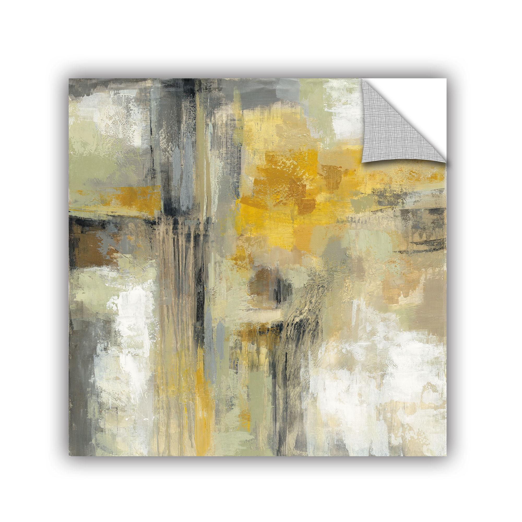 Shop ArtAppealz Silvia Vassileva\'s \'Sun and Rain\' Removable Wall Art ...
