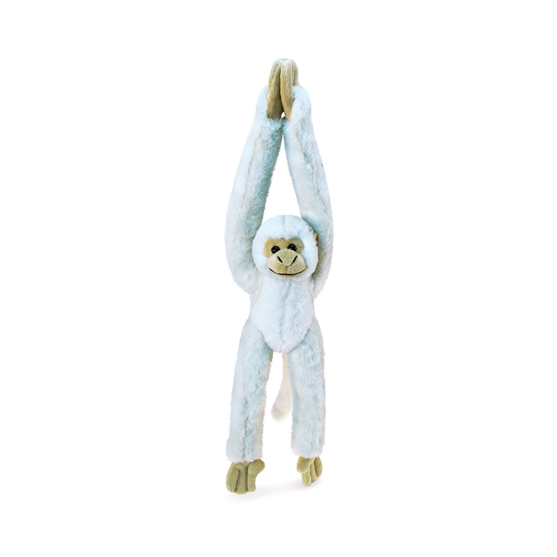 Shop Puzzled Long Arm Hanging White Squirrel Monkey Super Soft Plush