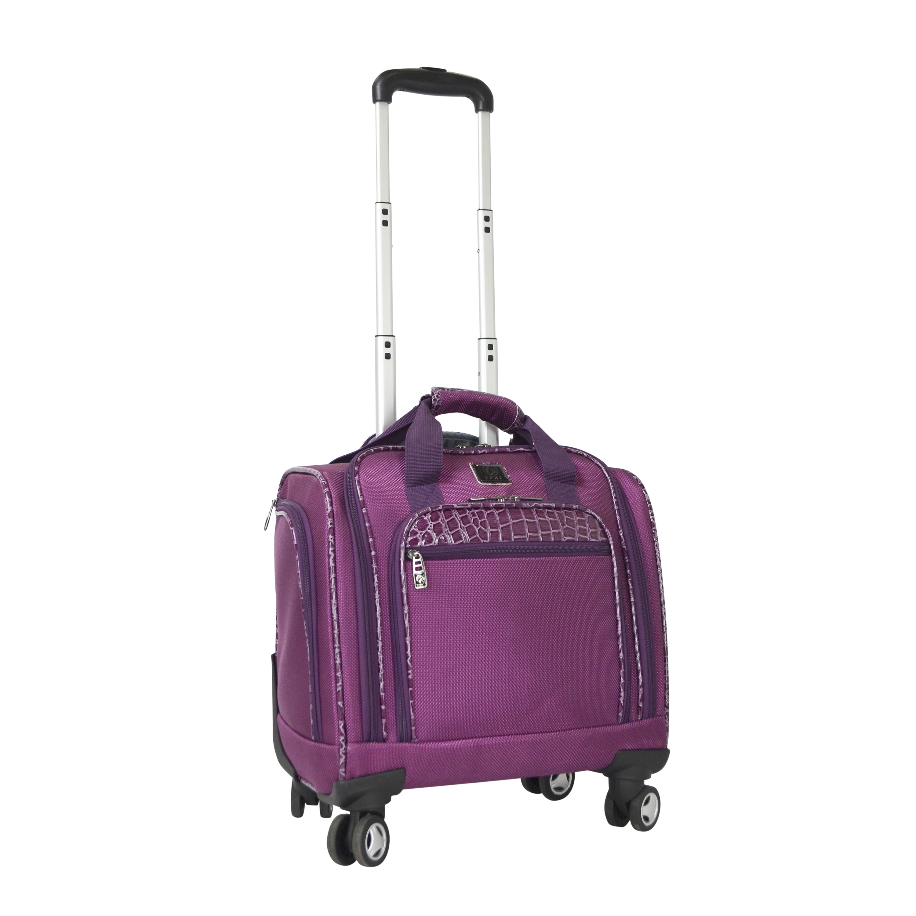 Shop Travelers Club 16-inch Carry-on Spinner Laptop Case - Free ... ae62f2748e