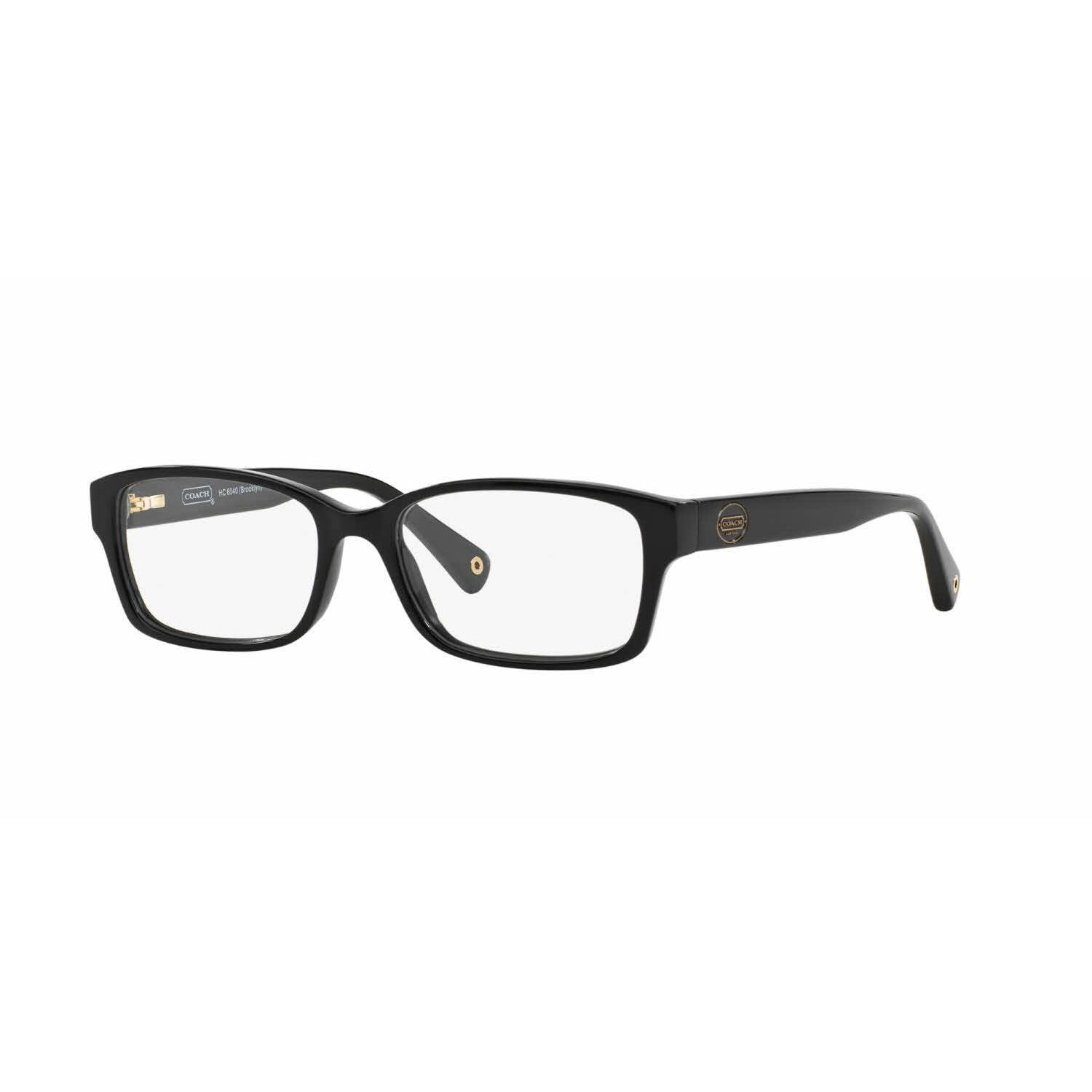a847a260fe6 Shop Coach Womens HC6040 BROOKLYN 5002 Black Plastic Rectangle Eyeglasses -  Free Shipping Today - Overstock.com - 13613268