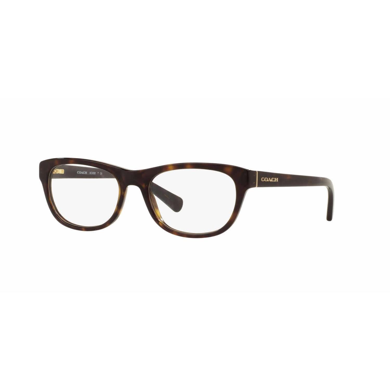 b756ea89e8e Shop Coach Womens HC6081 5120 Havana Plastic Rectangle Eyeglasses - Blue -  Free Shipping Today - Overstock - 13613473