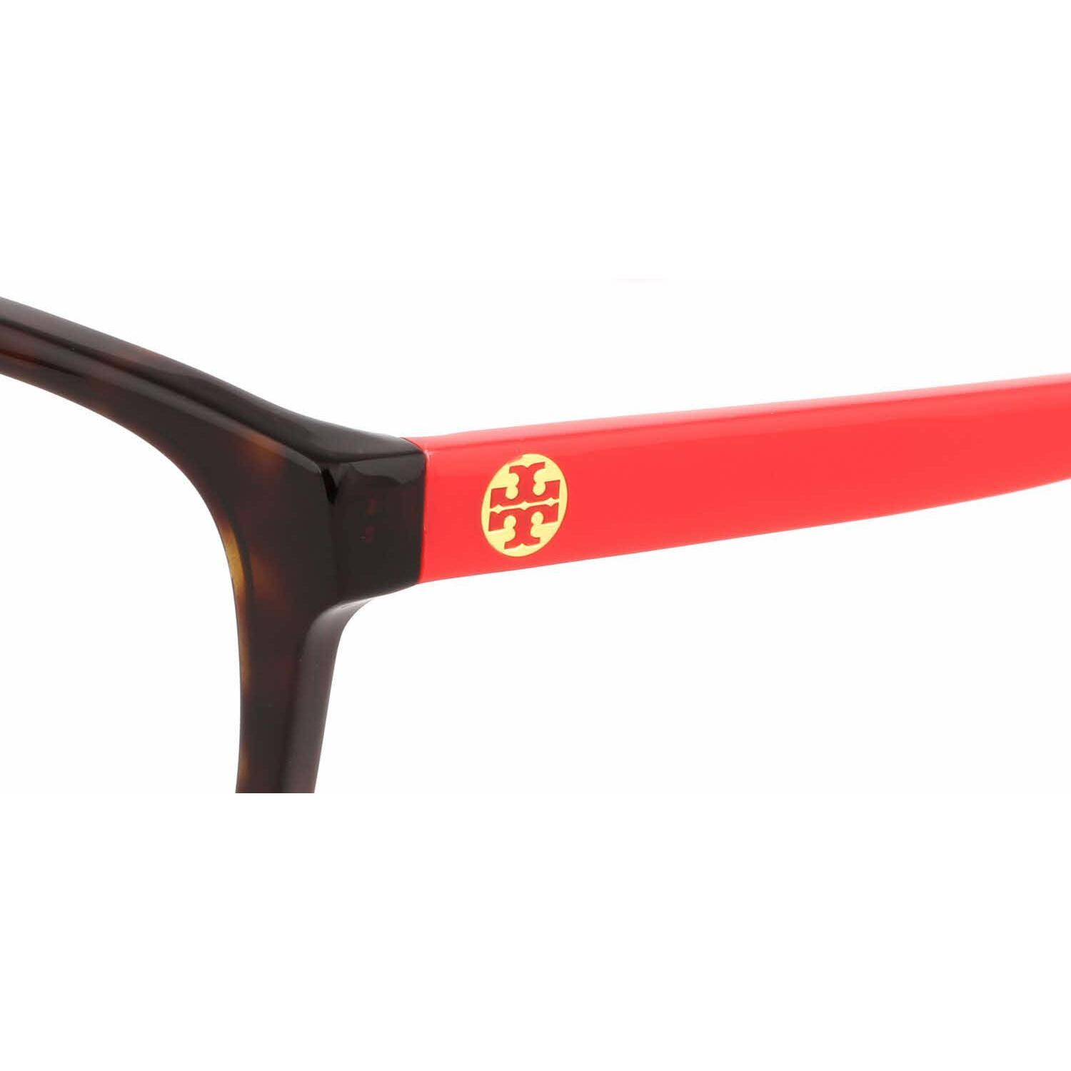 63e598734e8c Shop Tory Burch Womens TY2038 1213 Havana Plastic Rectangle Eyeglasses -  Tortoise - Free Shipping Today - Overstock.com - 13614474