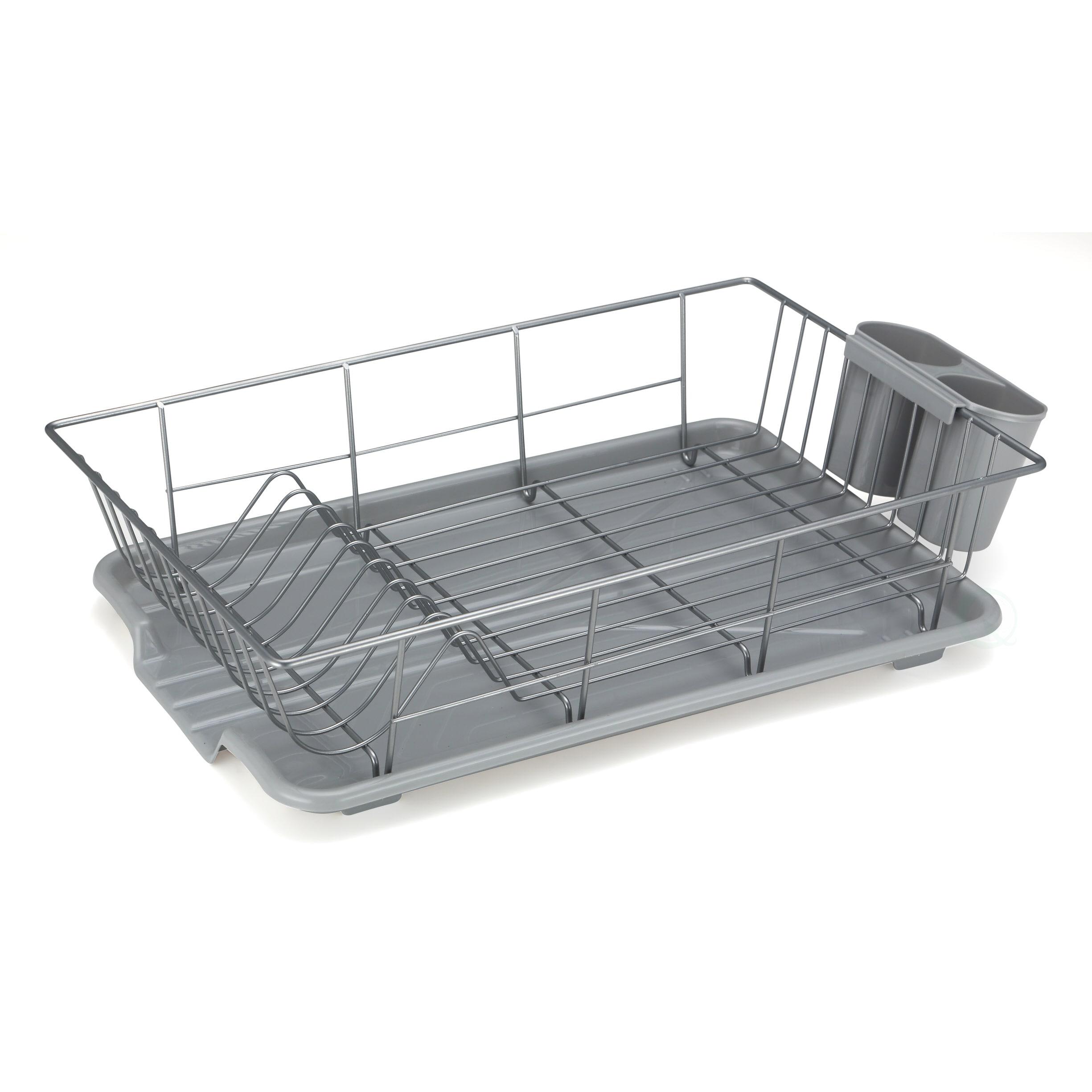 rack draining accessories kitchen holster closetmaid dish