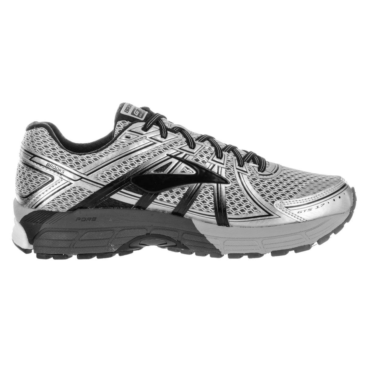 Shop Brooks Men s Adrenaline GTS 17 Silver Running Shoes - Free Shipping  Today - Overstock - 13620267 f43d91a736