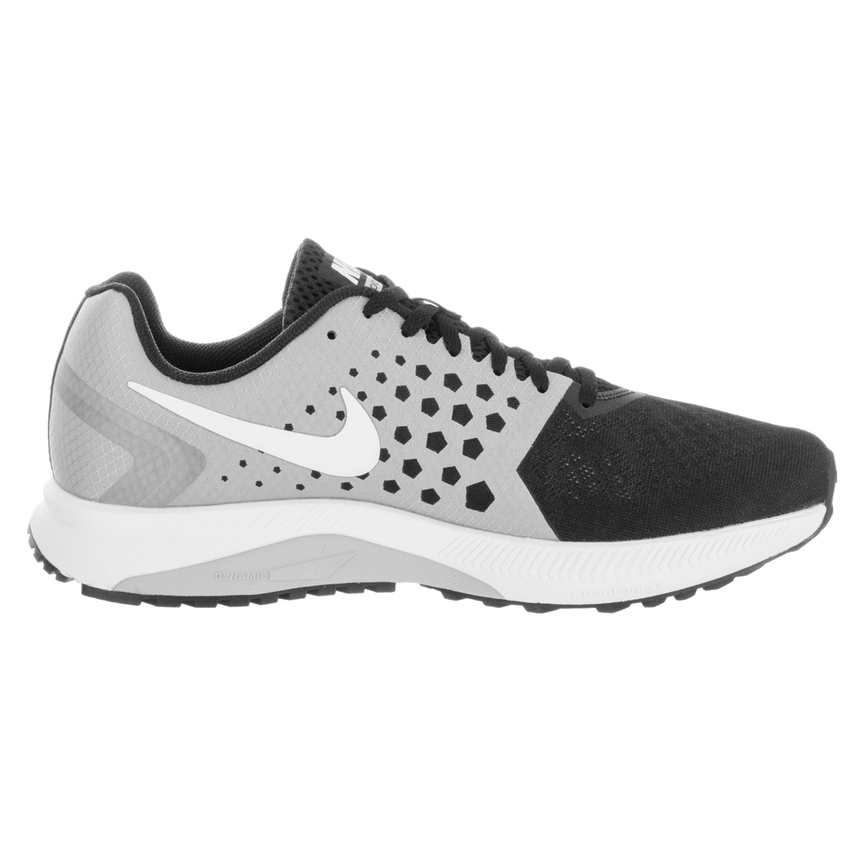 ... White entire collection  0168c 425d0 Nike Mens Zoom Span Black Running  Shoes - Free Shipping Today - Overstock ... f2cb2b1f15a5