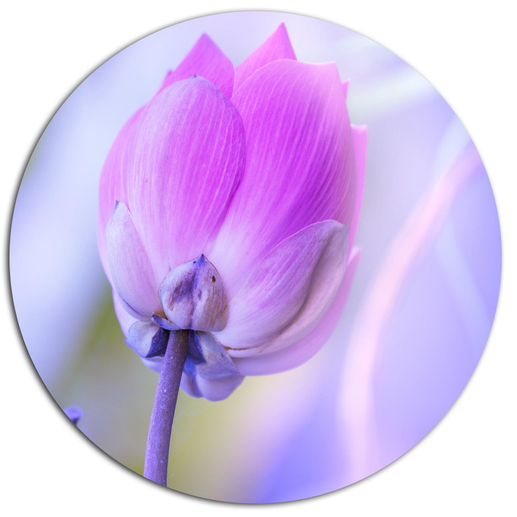 Shop designart large single lotus flower contemporary flower metal shop designart large single lotus flower contemporary flower metal wall art free shipping today overstock 20292117 izmirmasajfo