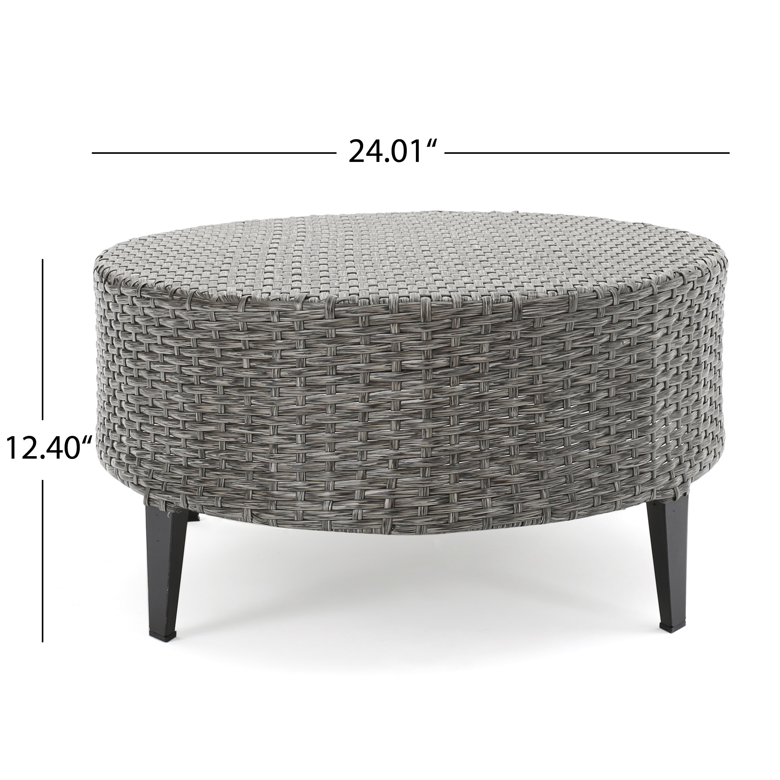 Shop Navagio Outdoor 5 Piece Wicker Sofa Set With Cushions By Christopher  Knight Home   Free Shipping Today   Overstock.com   13621643