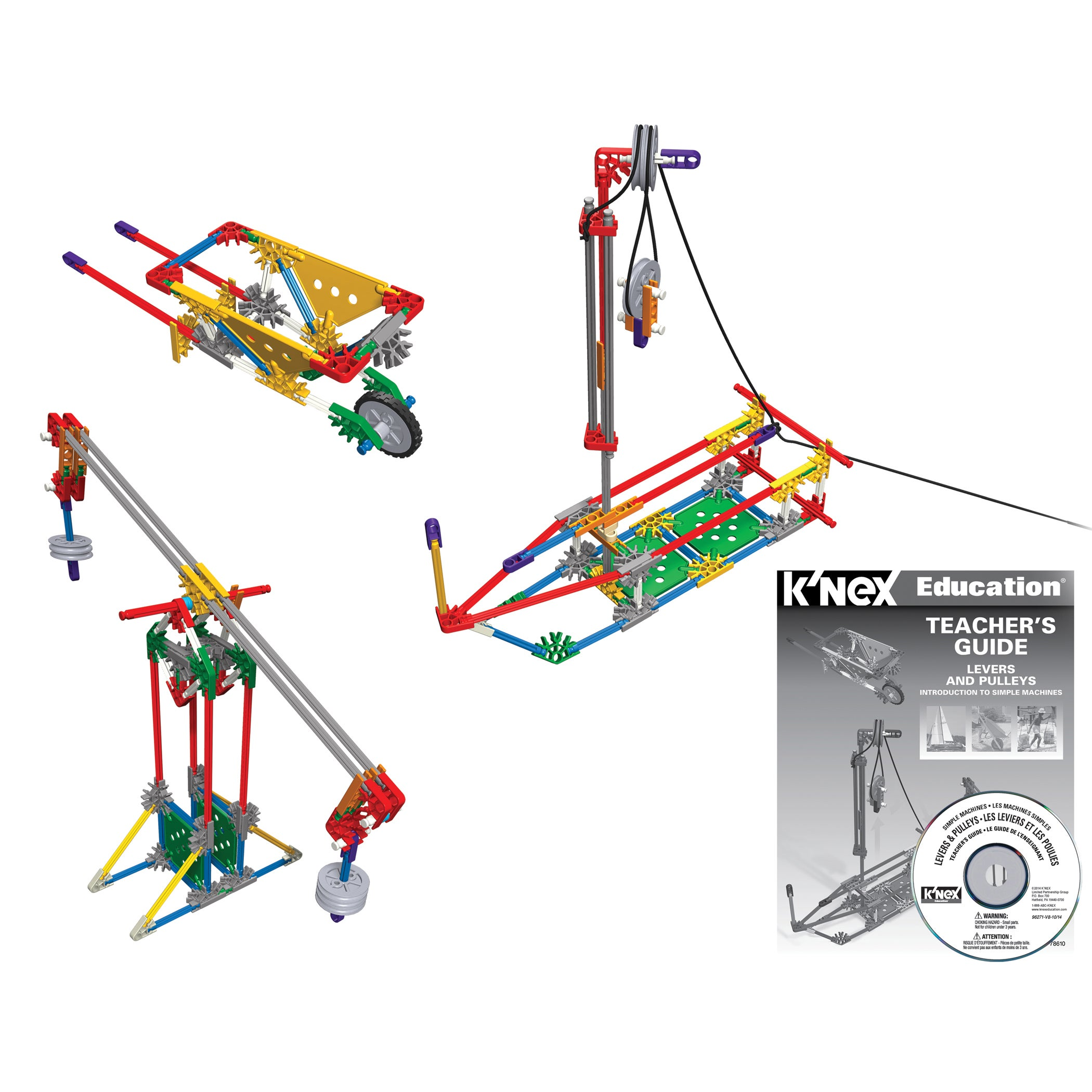 Shop Knex Levers And Pulleys Multicolor Building Set Free Rolex Parts Diagram Shipping Today 13621825
