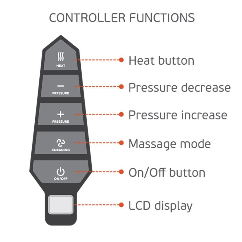 Shop Belmint Shiatsu Foot Massager With Switchable Heat And Washable Massage Diagram Cover Free Shipping Today 13626303