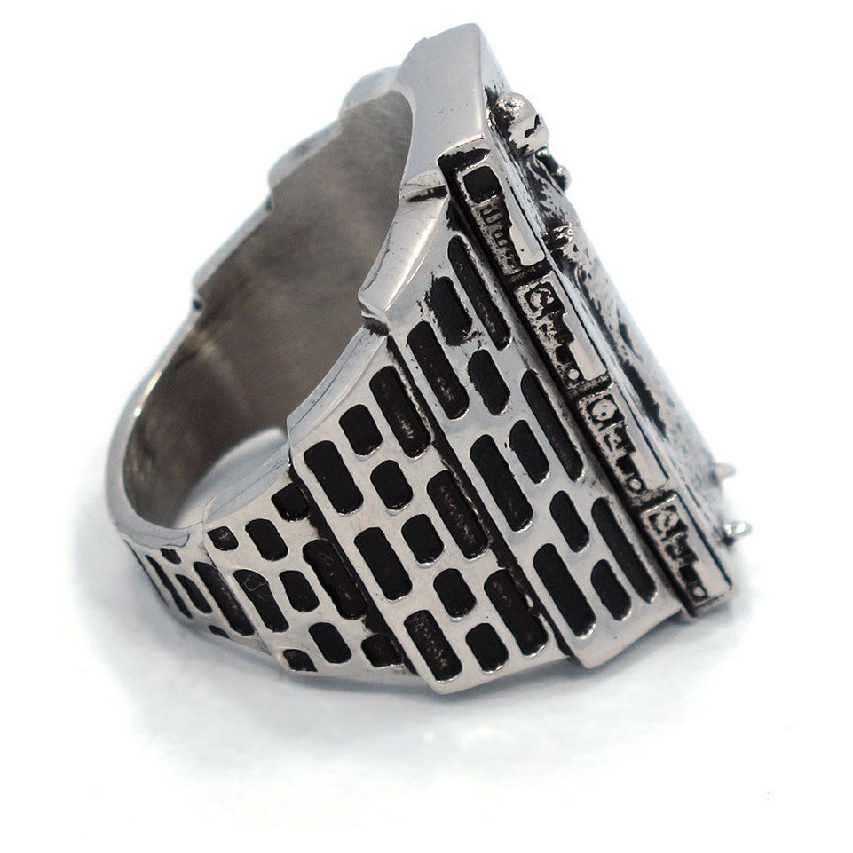Shop Han Cholo Men S Stainless Steel Han Solo In Carbonite Ring