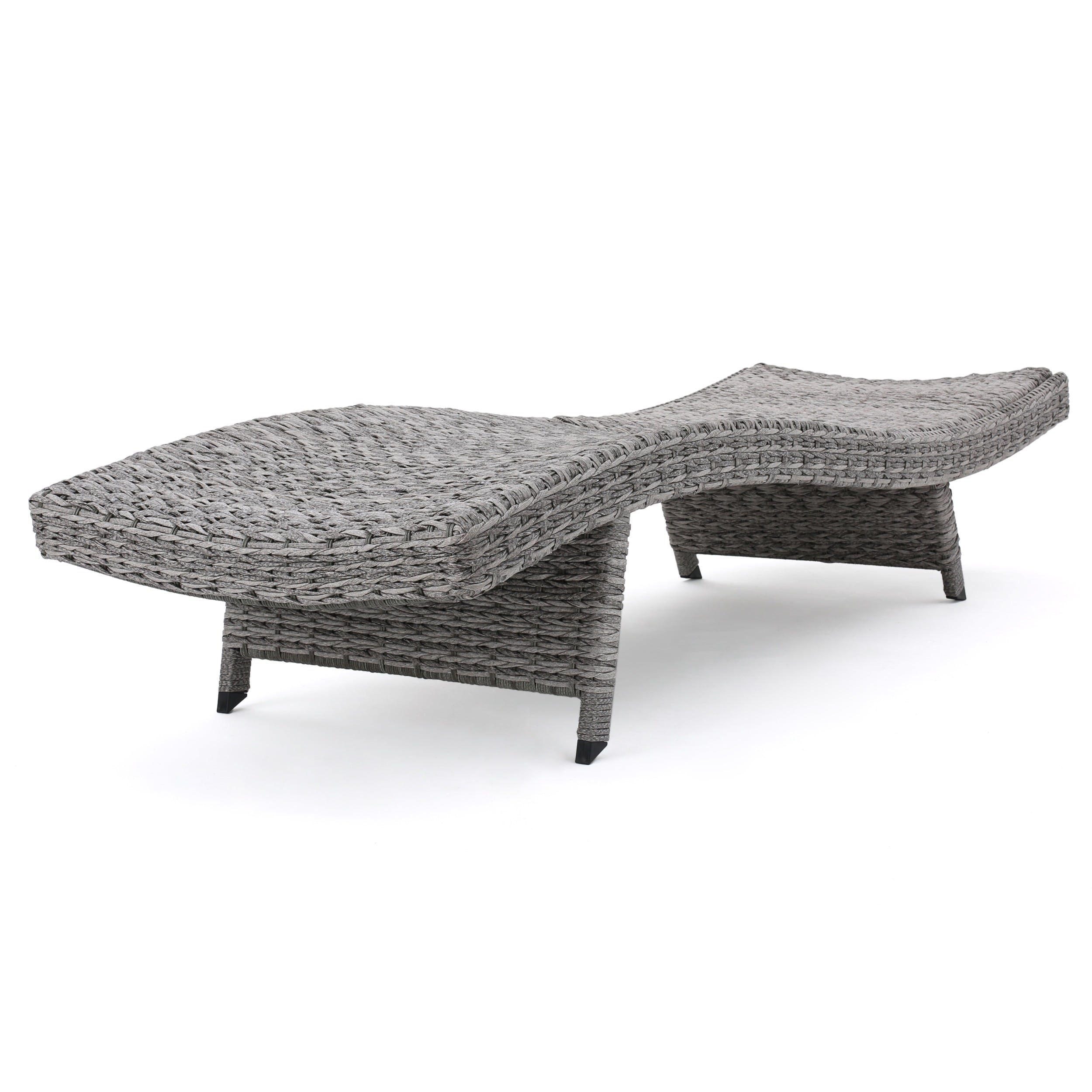 Crete Outdoor Chaise Lounge (Set of 2) by Christopher Knight Home ...