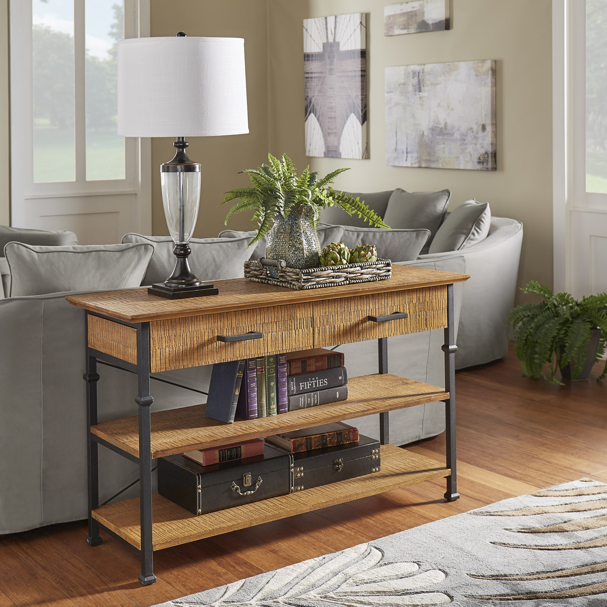 Exceptionnel Shop Myra Vintage Industrial Modern Rustic Media TV Stand Console By  INSPIRE Q Classic   Free Shipping Today   Overstock.com   13678331