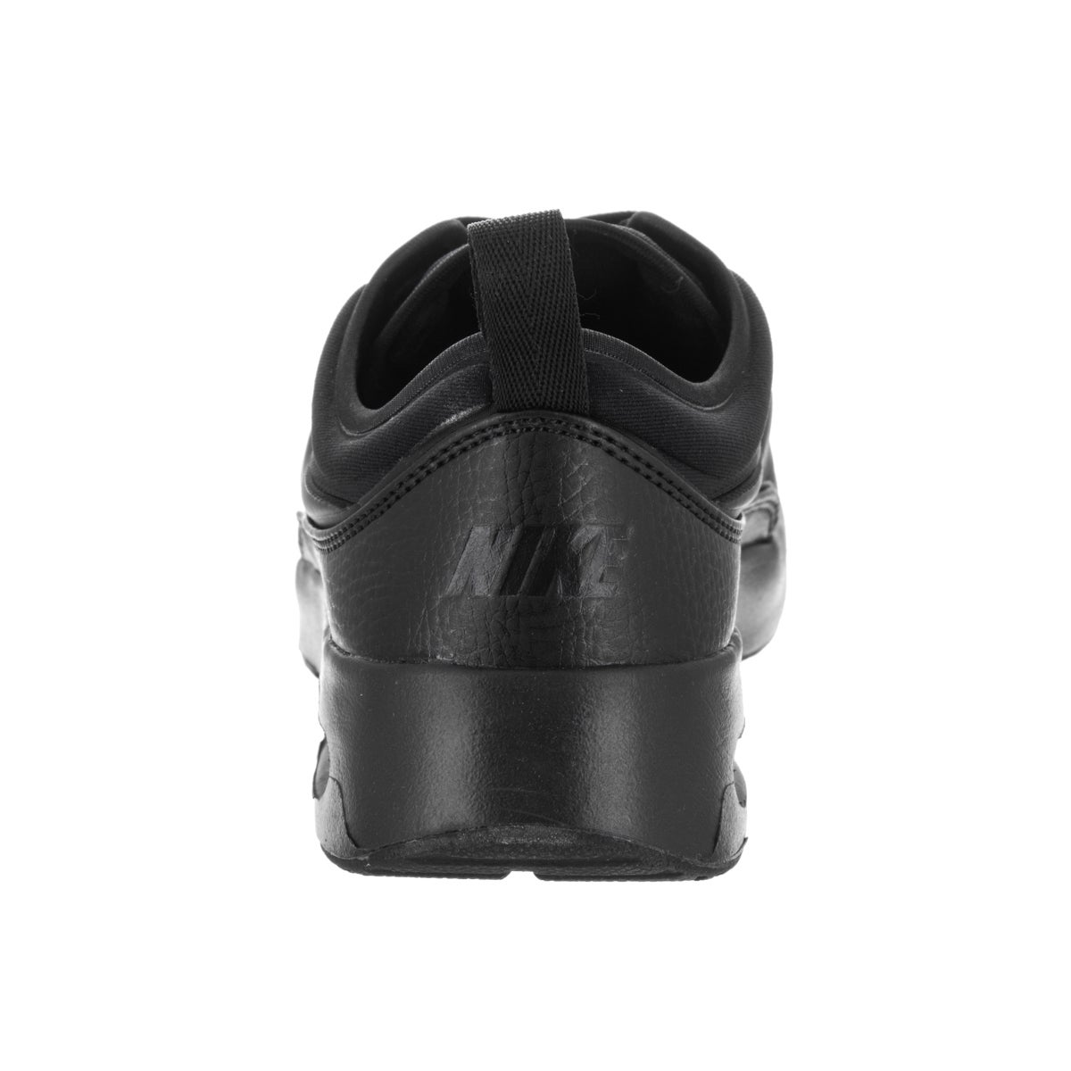 89c9a714d7 Shop Nike Women's Air Max Thea Ultra Premium Black and Cool Grey Faux  Leather Running Shoe - Free Shipping Today - Overstock - 13679970