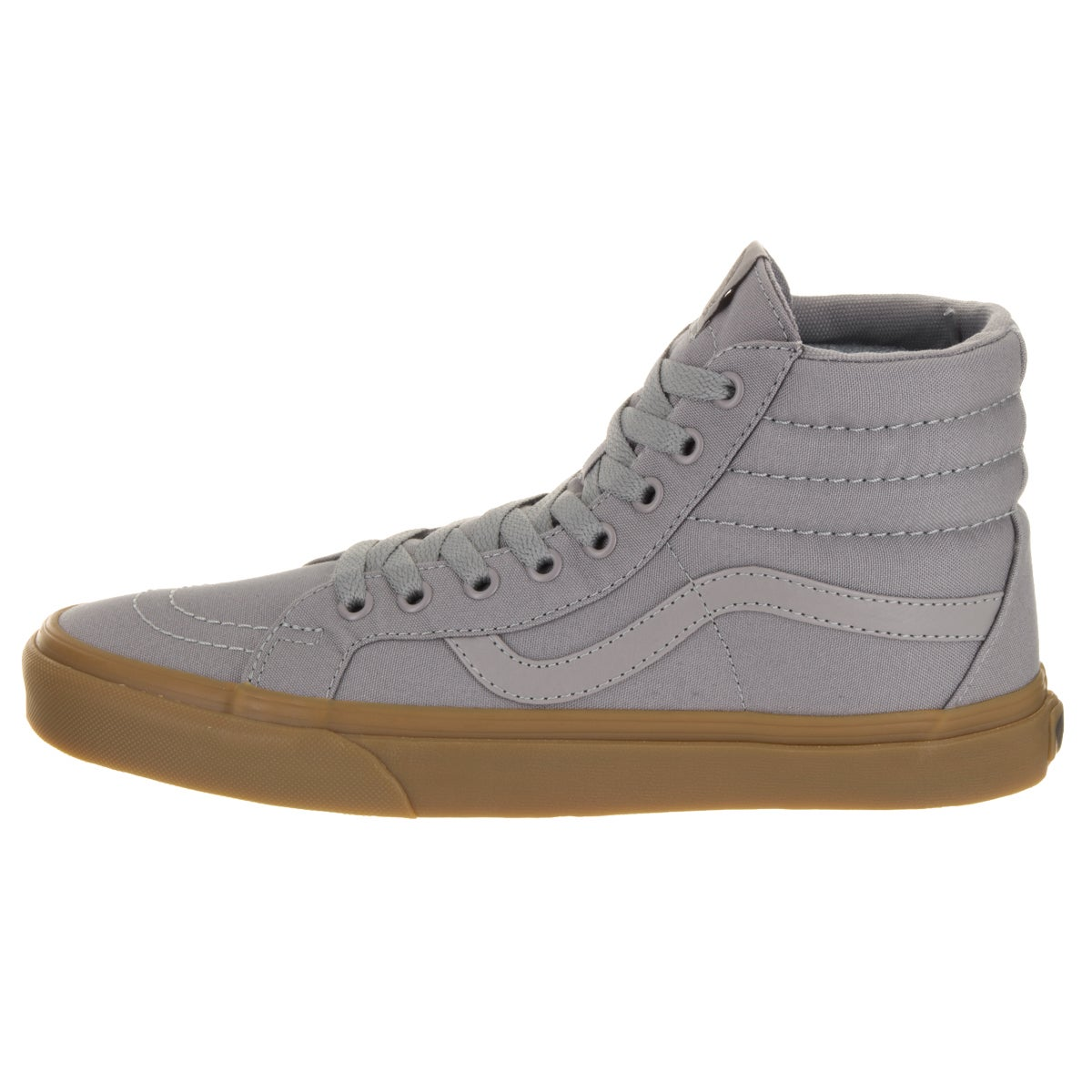 8a96fe67e441 Shop Vans Unisex Sk8-Hi Reissue Frosty Grey and Light Gum Canvas Skate Shoe  - Free Shipping Today - Overstock.com - 13680016