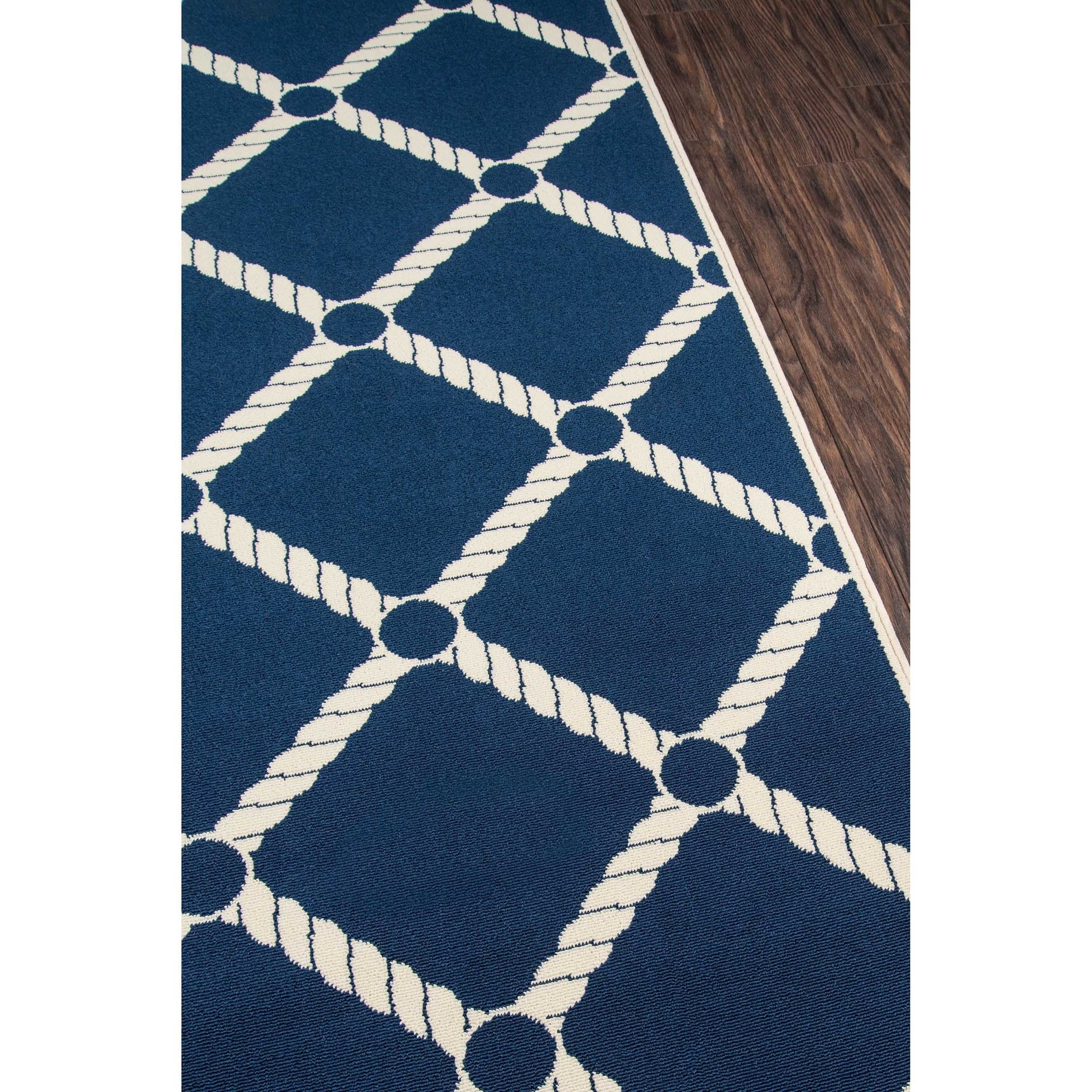 rug navy round jute blue nautical porto hand braided rugs products