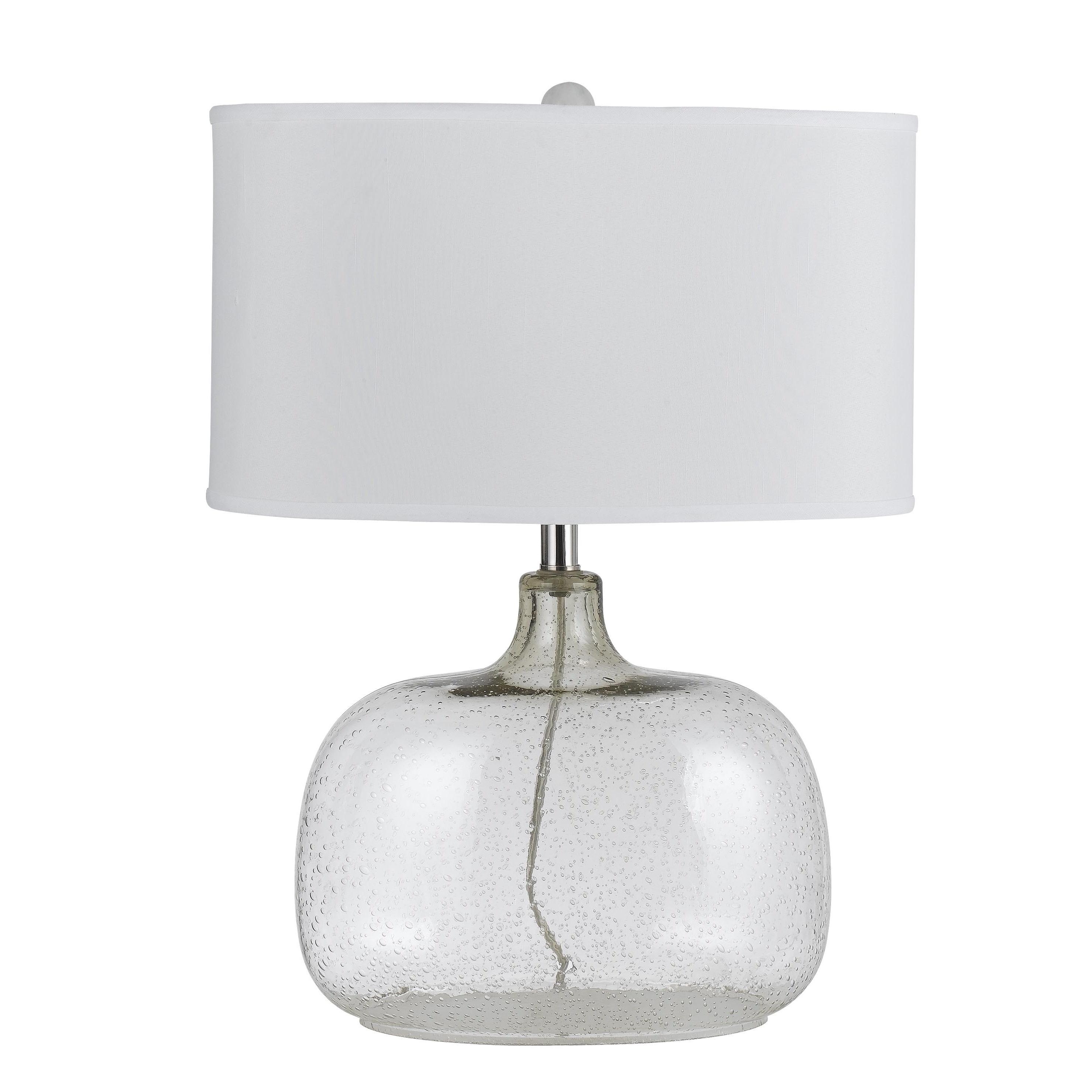 Christi Clear Glass 150-watt 3-way Table Lamp - Free Shipping Today ...