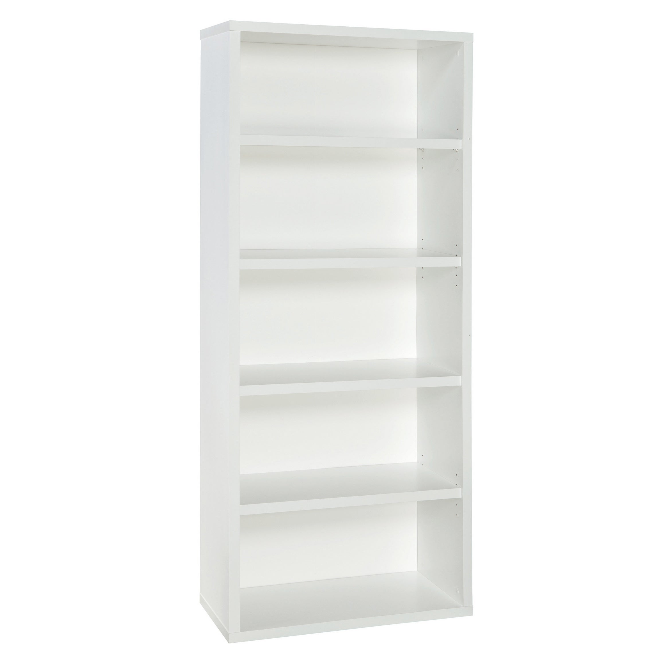 Shop Closetmaid Premium White 5 Shelf Adjustable Bookcase Free