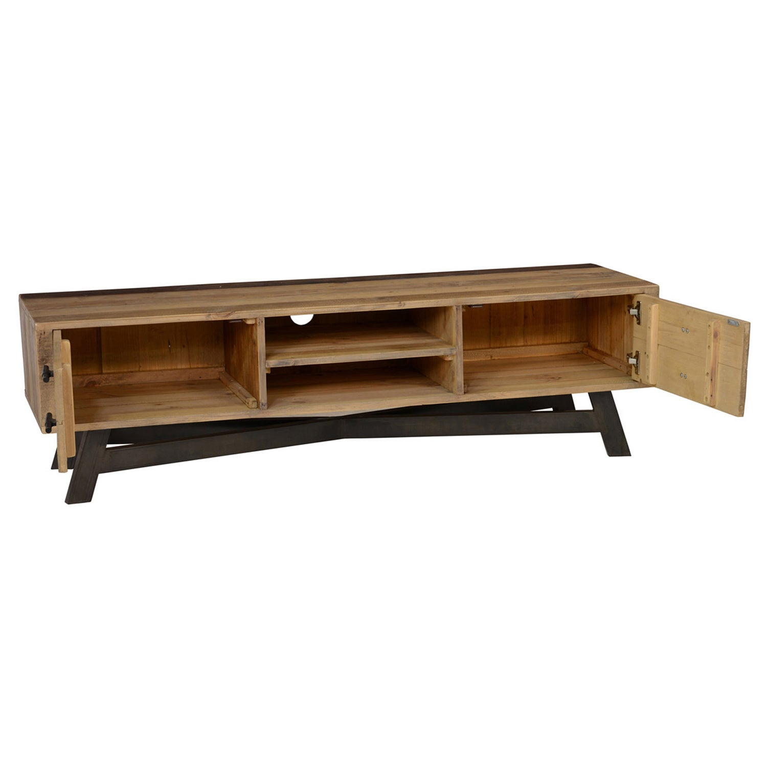 Holden Natural Reclaimed Wood Tv Stand By Kosas Home On Free Shipping Today 13687239