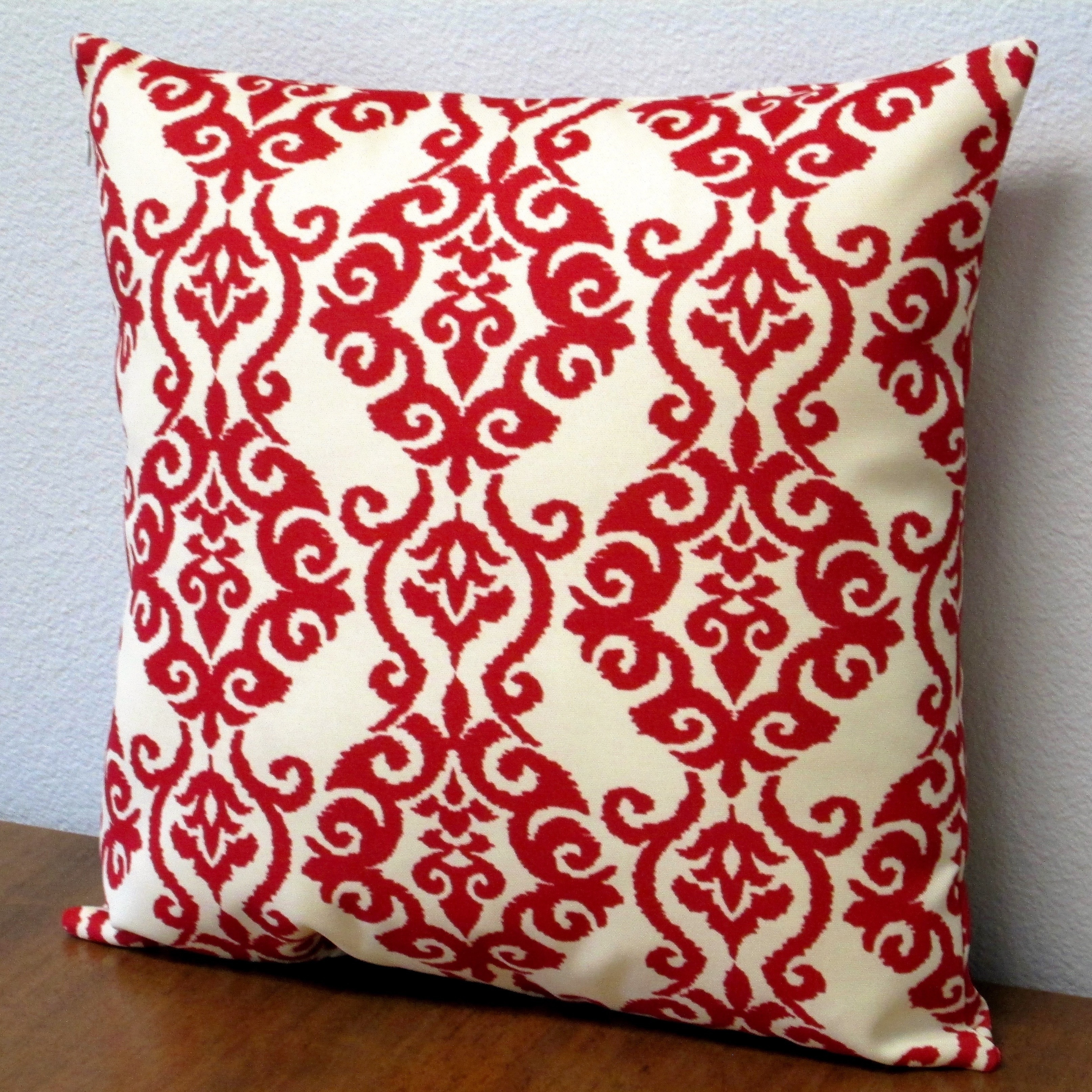 country pillows floral and pillow rizzy home throw red pin