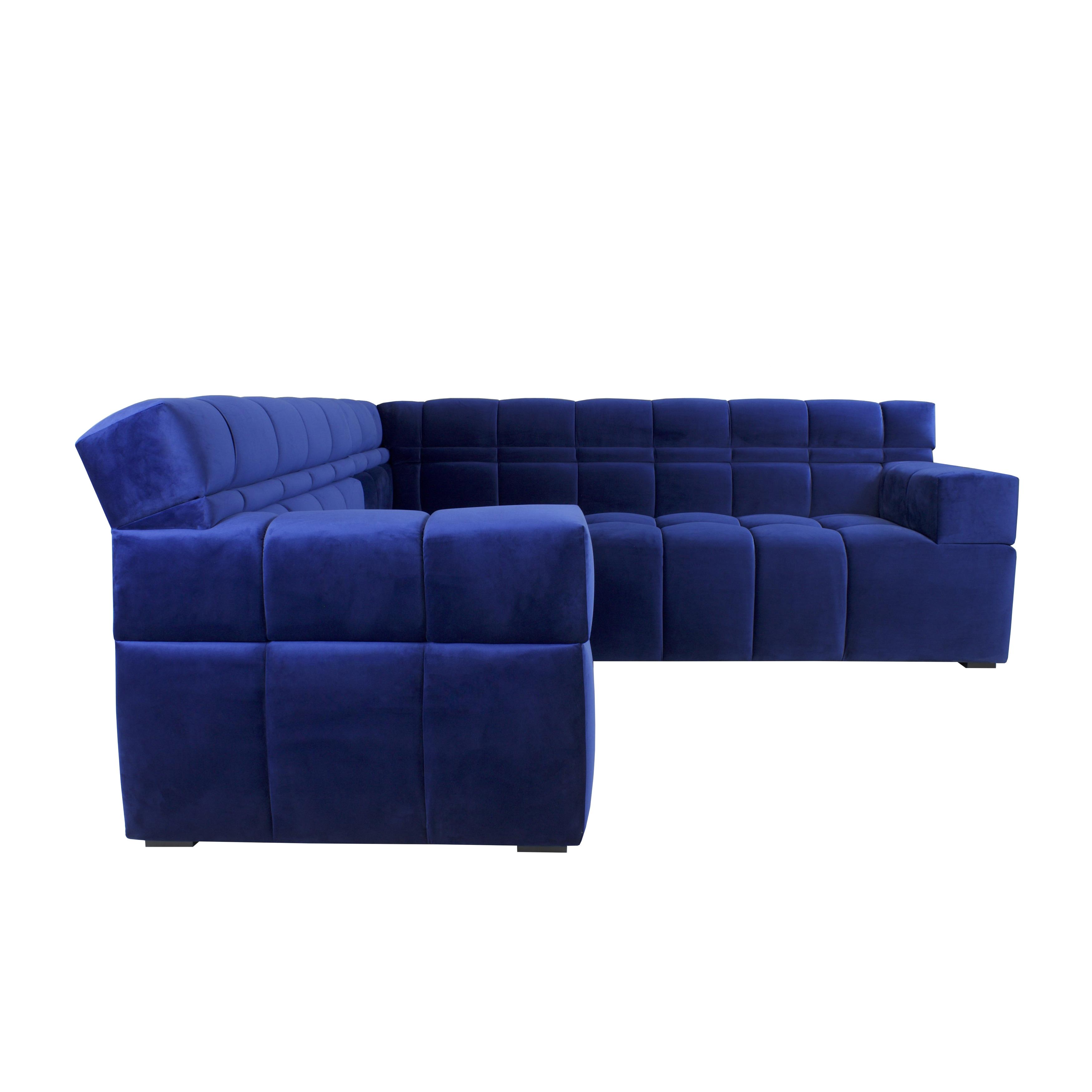 jar designs furniture. JAR Designs \u0027Boxter\u0027 Velvet 2-piece Sectional Sofa - Free Shipping Today Overstock.com 20351690 Jar Furniture F
